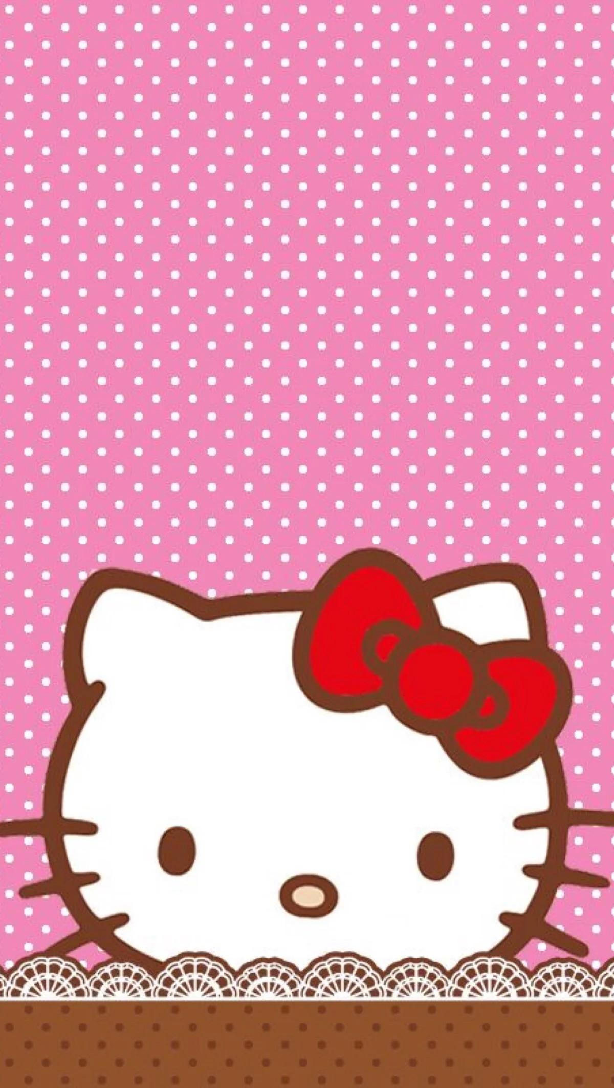 Hello Kitty Wallpaper, Iphone Wallpaper, Kawaii, Cartoon, Walls, Love
