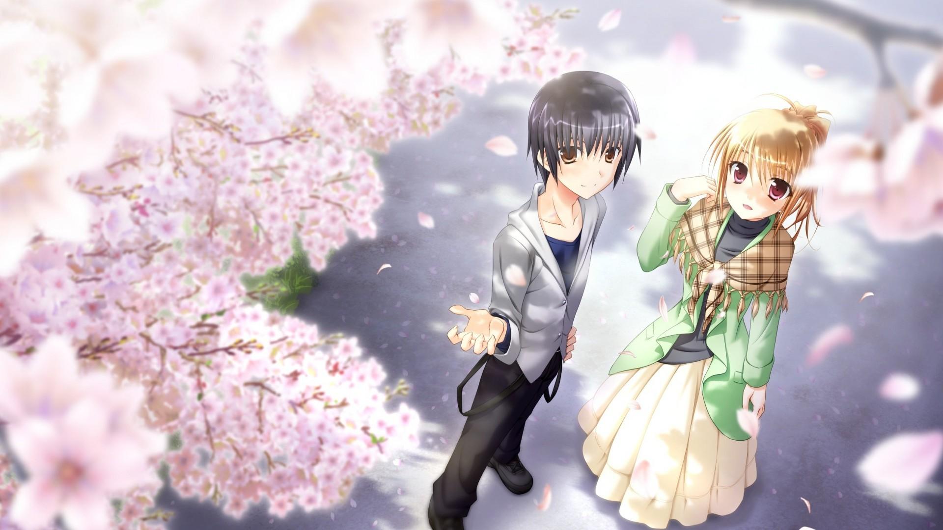 Wallpaper konata yori kanata made, francesca bathory, girl, boy,  couple, · Cute Anime …