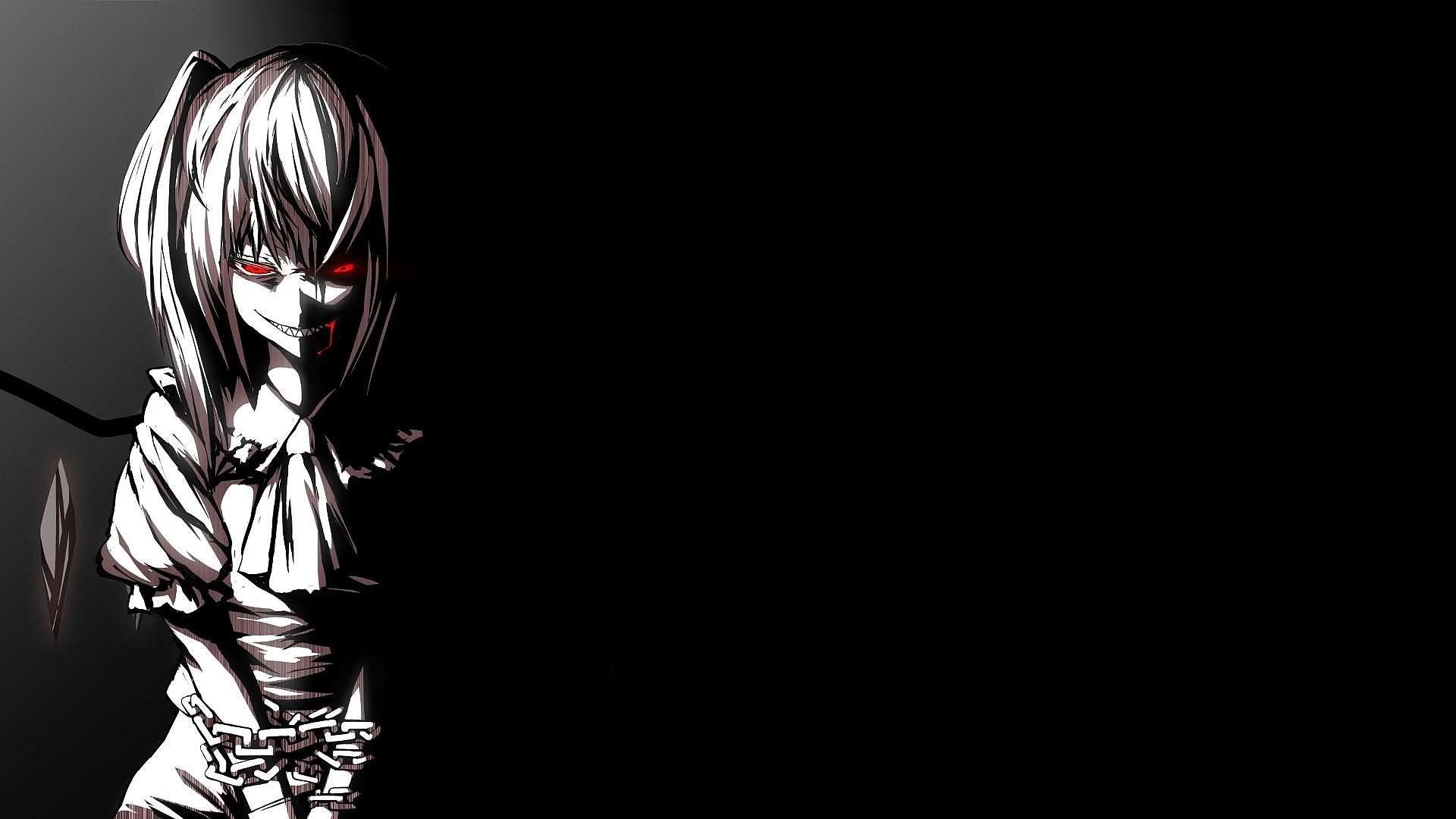 Dark Anime Girl Wallpaper 6329