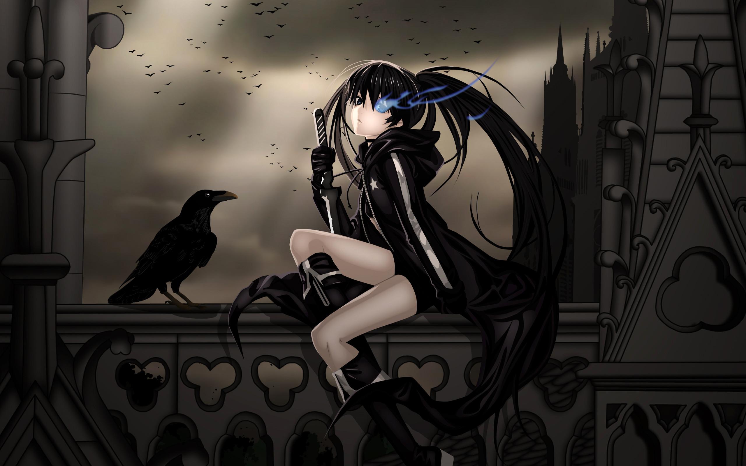 Dark Anime Girl Wallpaper 8929