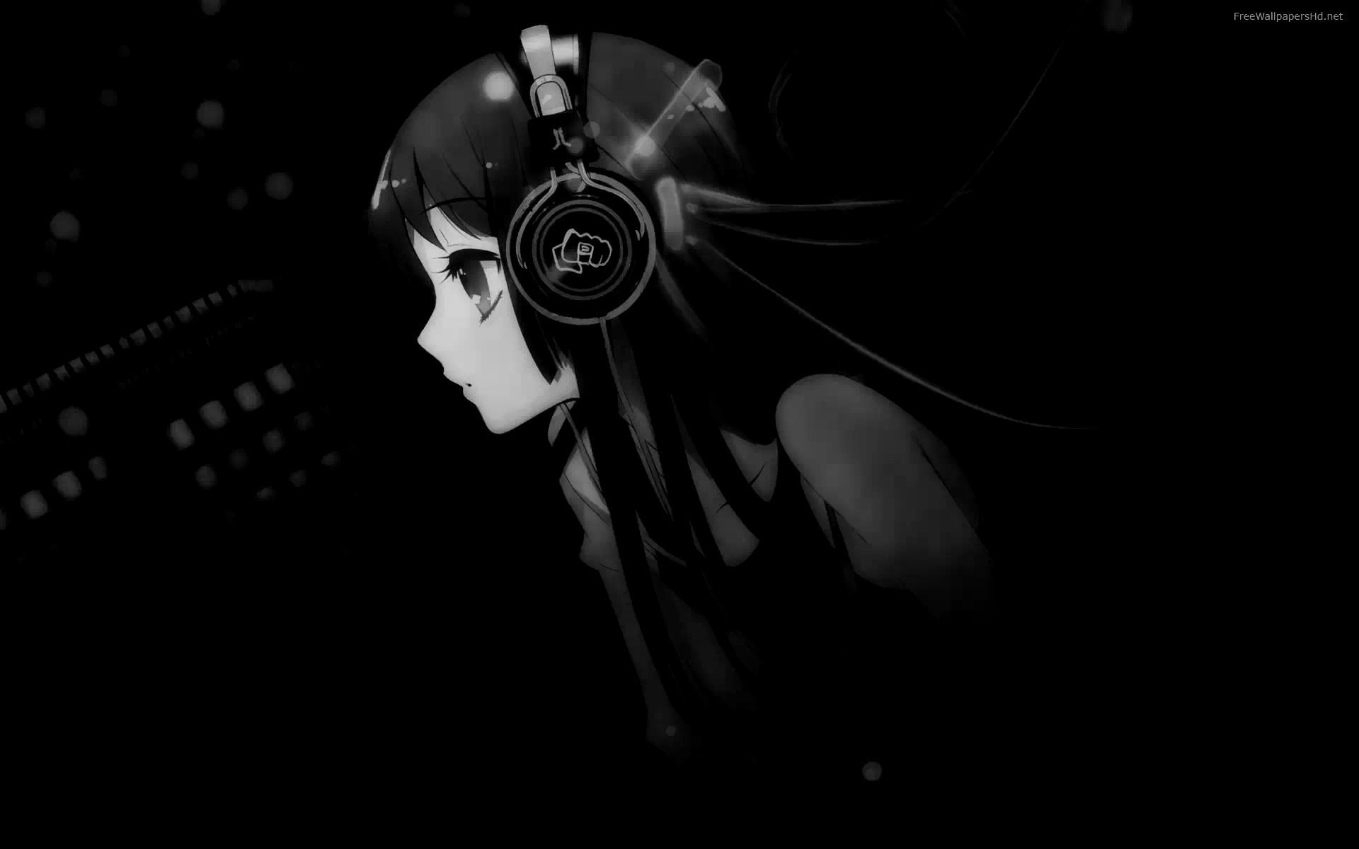 image. a music wallpaper anime girl …