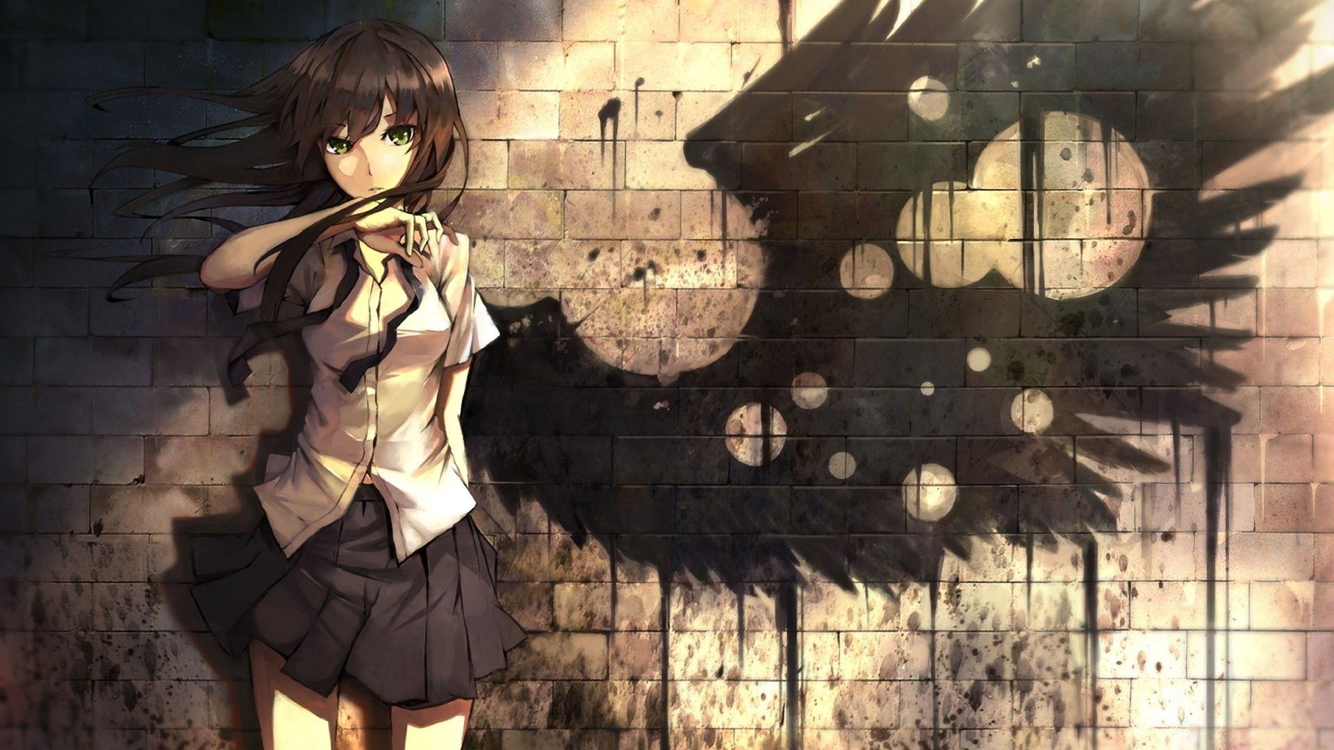 Anime Girl HD Wallpaper