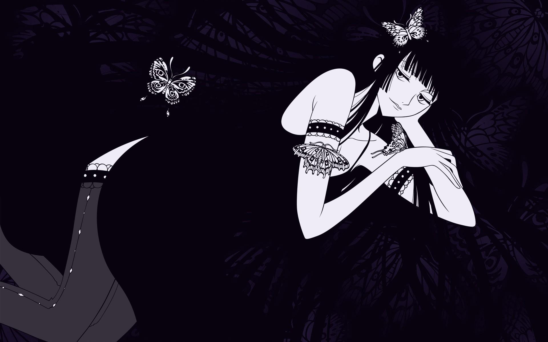 Girls Anime Manga Cartoon HD Wallpaper