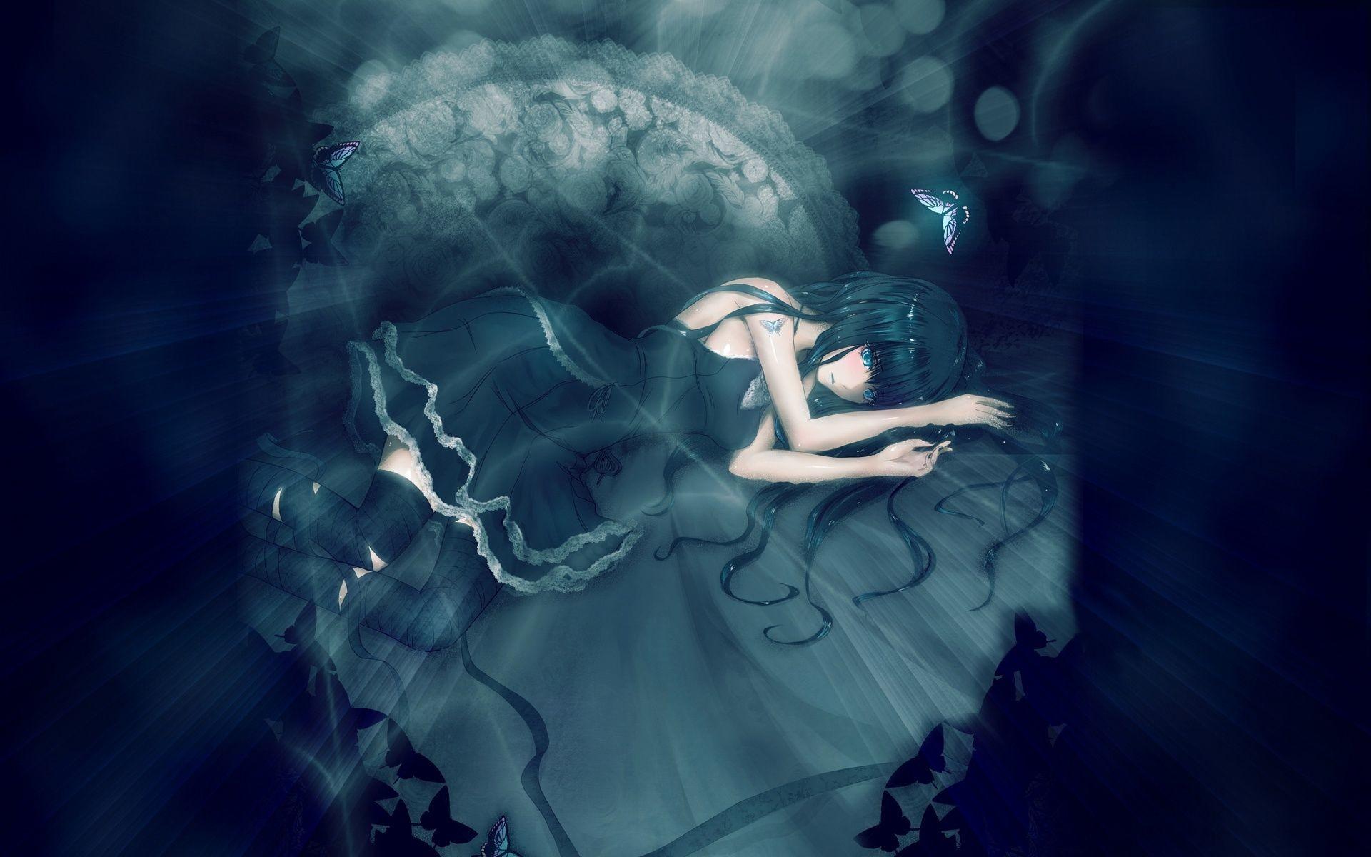 Dust Begone. Love WallpaperIn The ShadowsSad GirlBlack RosesDark AnimeCute  …