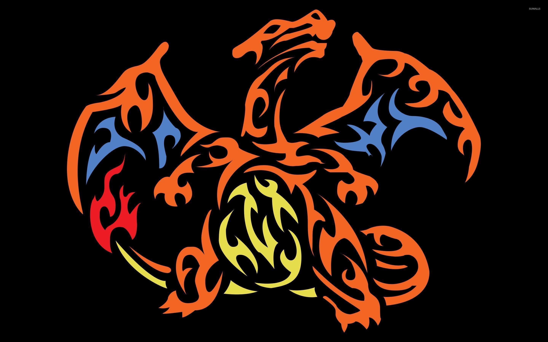Pokemon Wallpaper Shiny Umbreon 388806601 · Tribal Charizard Pokemon 47398