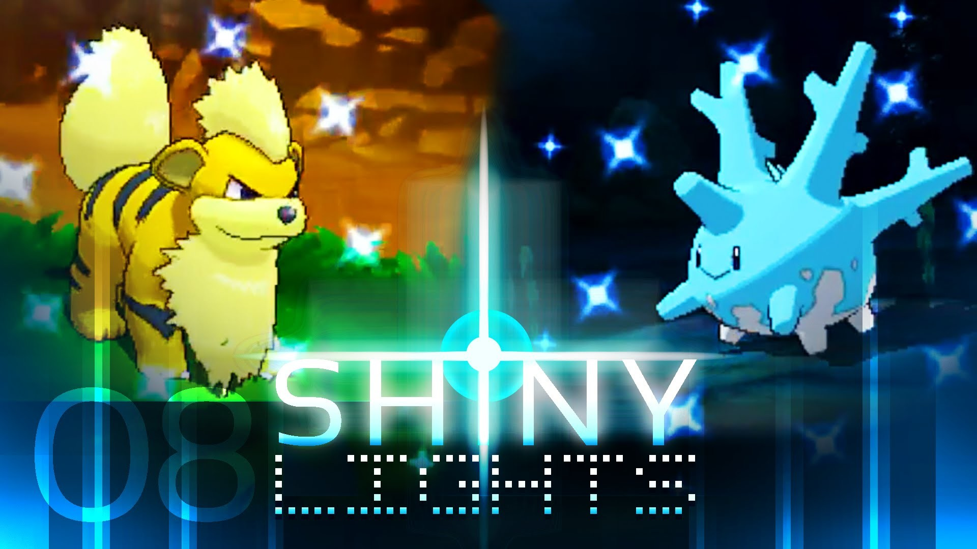 Pokemon ORAS: 3 Shiny Pokemon in 1 Day! Growlithe, Corsola & Wailmer  (Twitch) (Omega Ruby) – YouTube