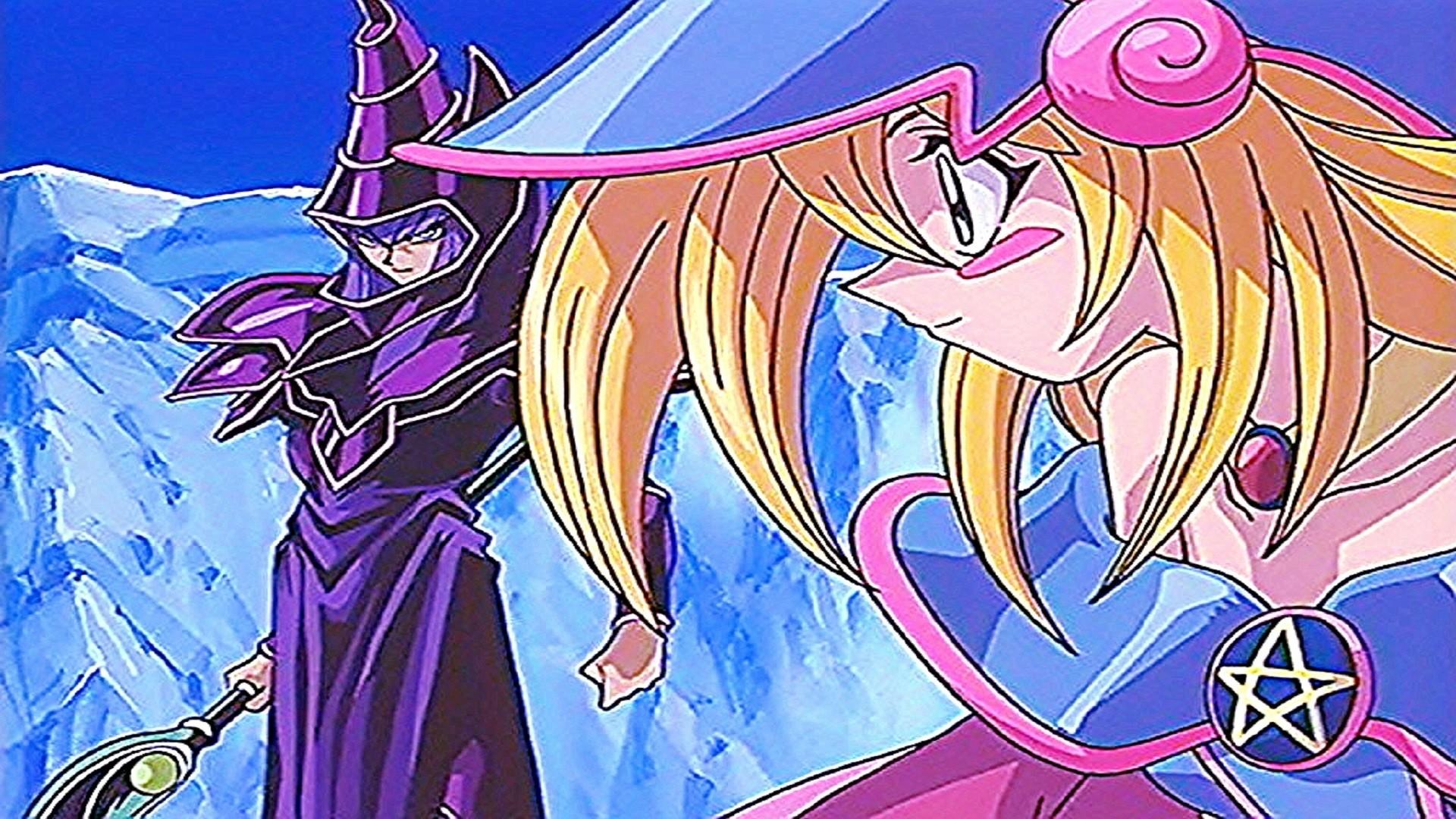 … Yugioh! Dark Magician And Dark Magician Girl 1 by chyo83