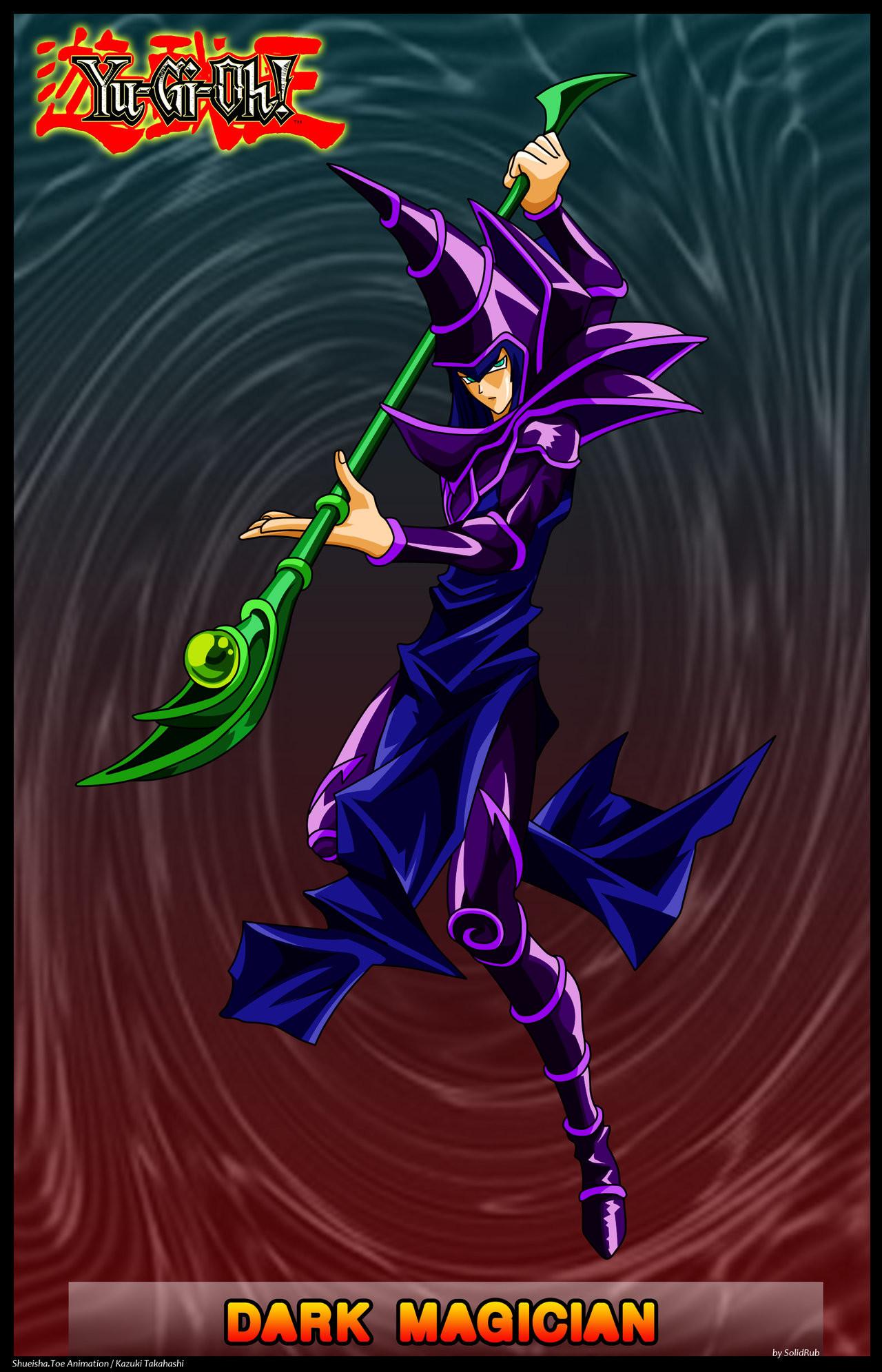 Dark Magician by solidrub Dark Magician by solidrub