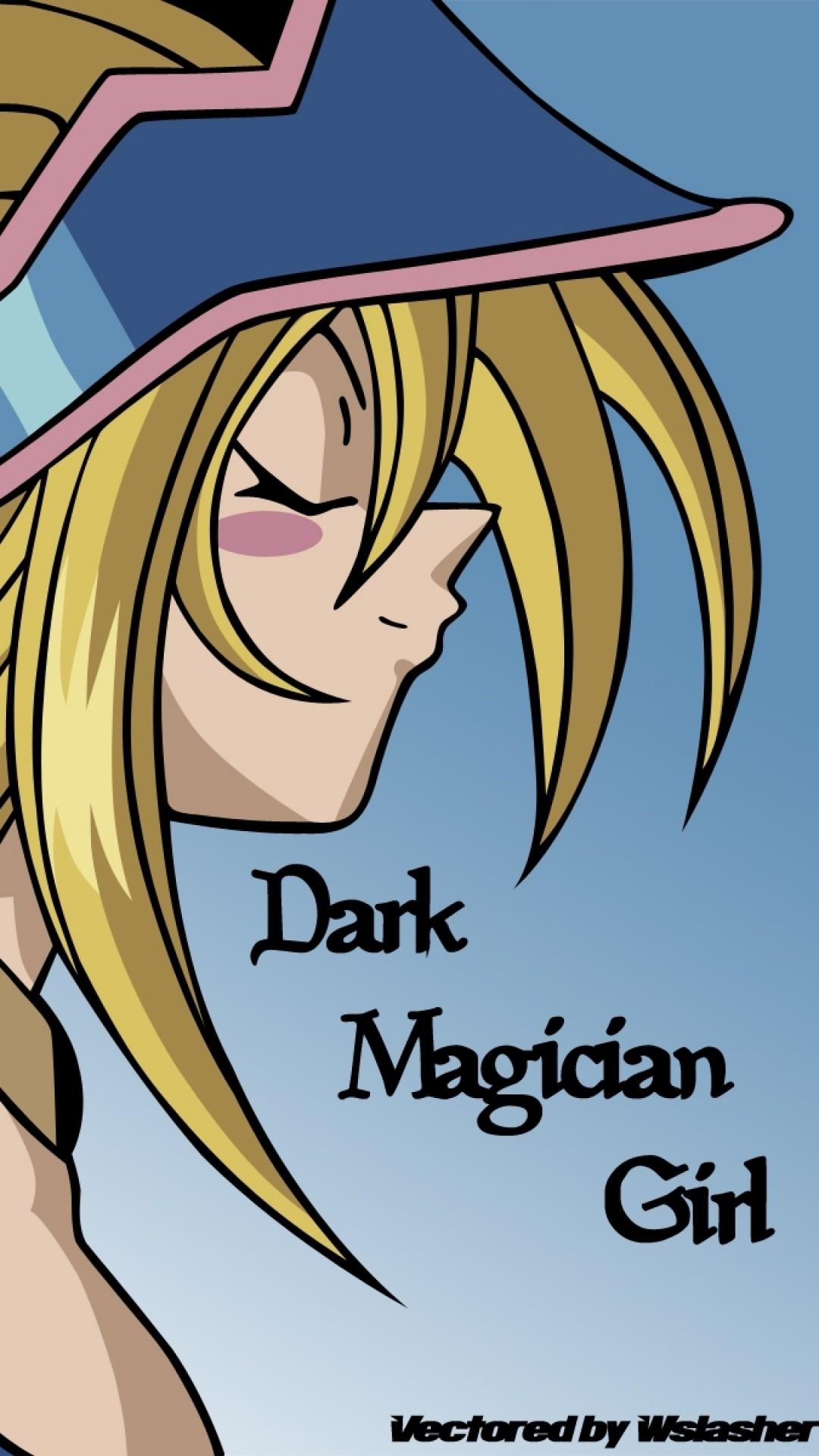 Wallpaper yu-gi-oh, dark magician, girl, blonde, profile