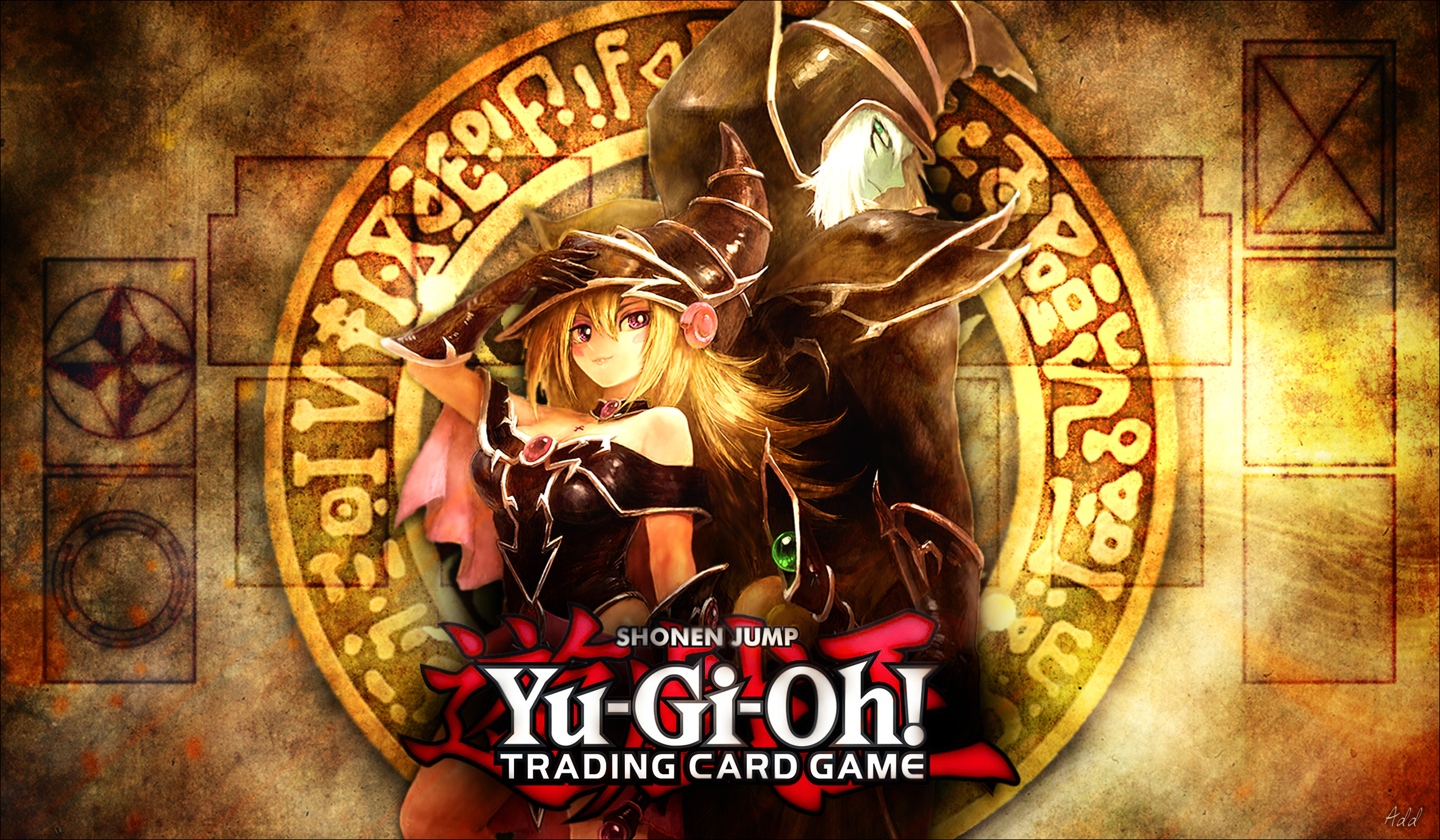… Yugioh – The Magicians Playmat by SrAddiction