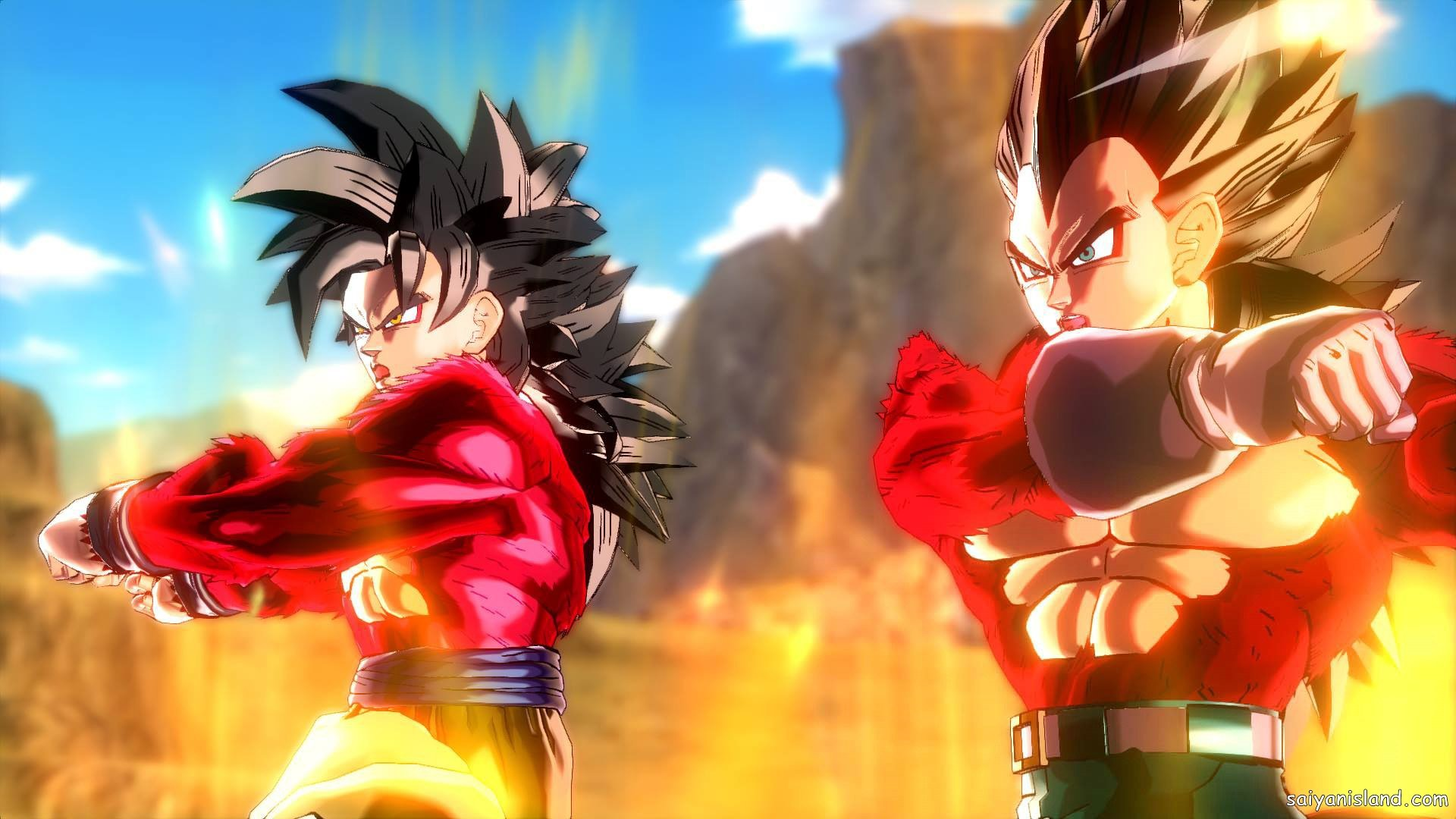 DBXV SSJ4 Goku & SSJ4 Vegeta Fusion Dance GT Pack 2 DLC 23.jpg