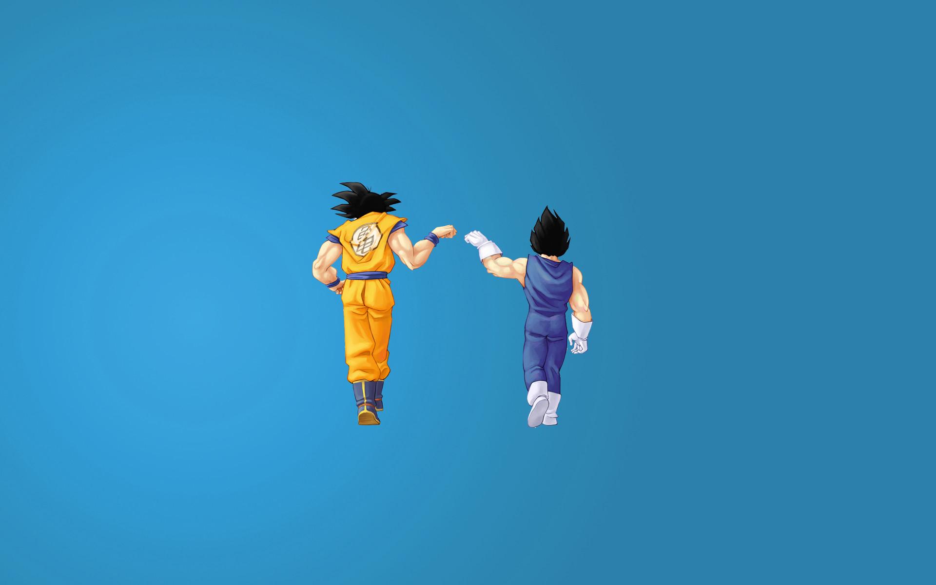 Goku vs Vegeta Iphone Wallpaper Vegeta Goku Wallpaper