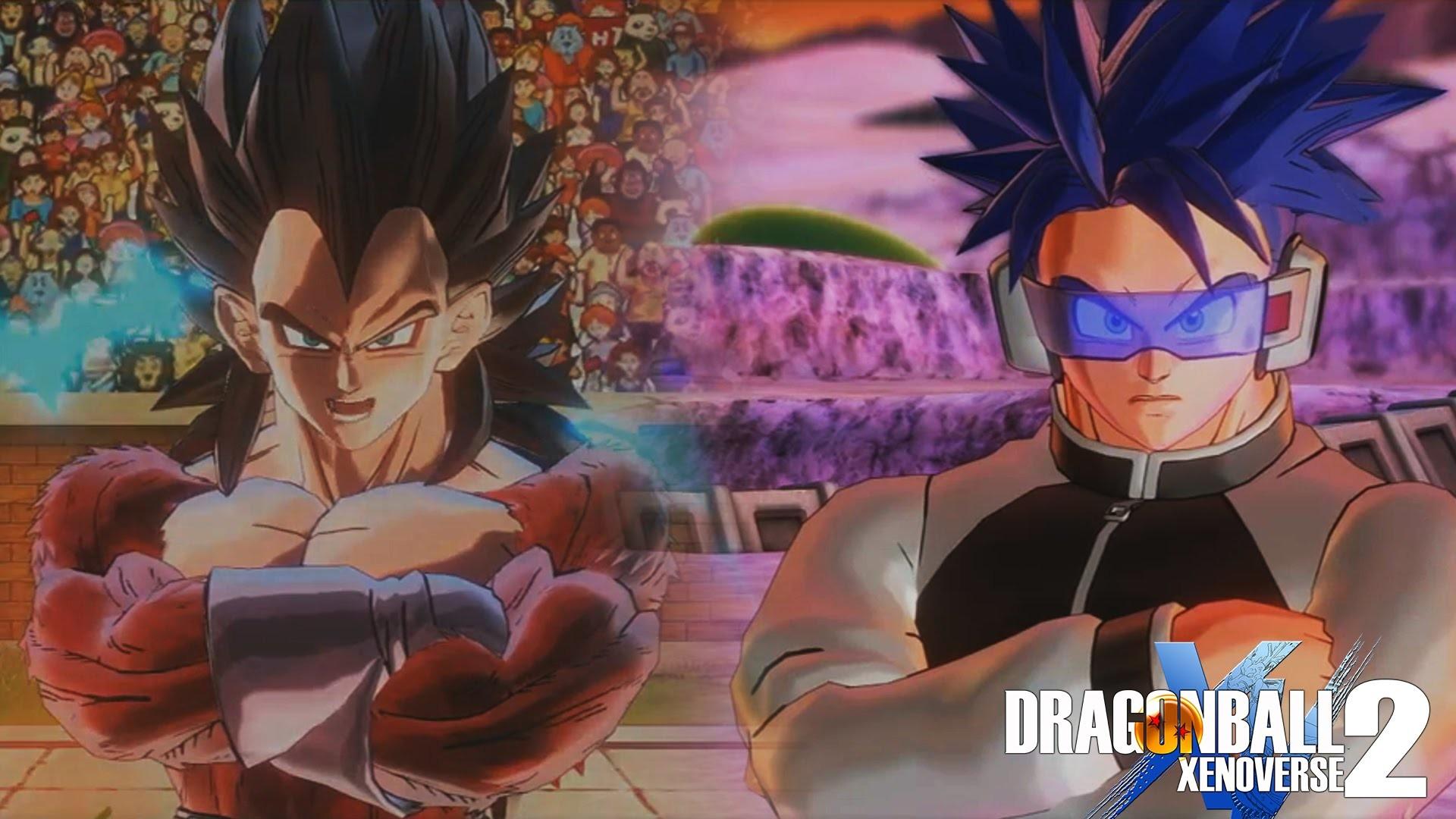 Dragon Ball XENOVERSE 2 – SSJ4 Vegeta,Goku,Trunks,Time Patroller  Gameplay【60FPS 1080P】