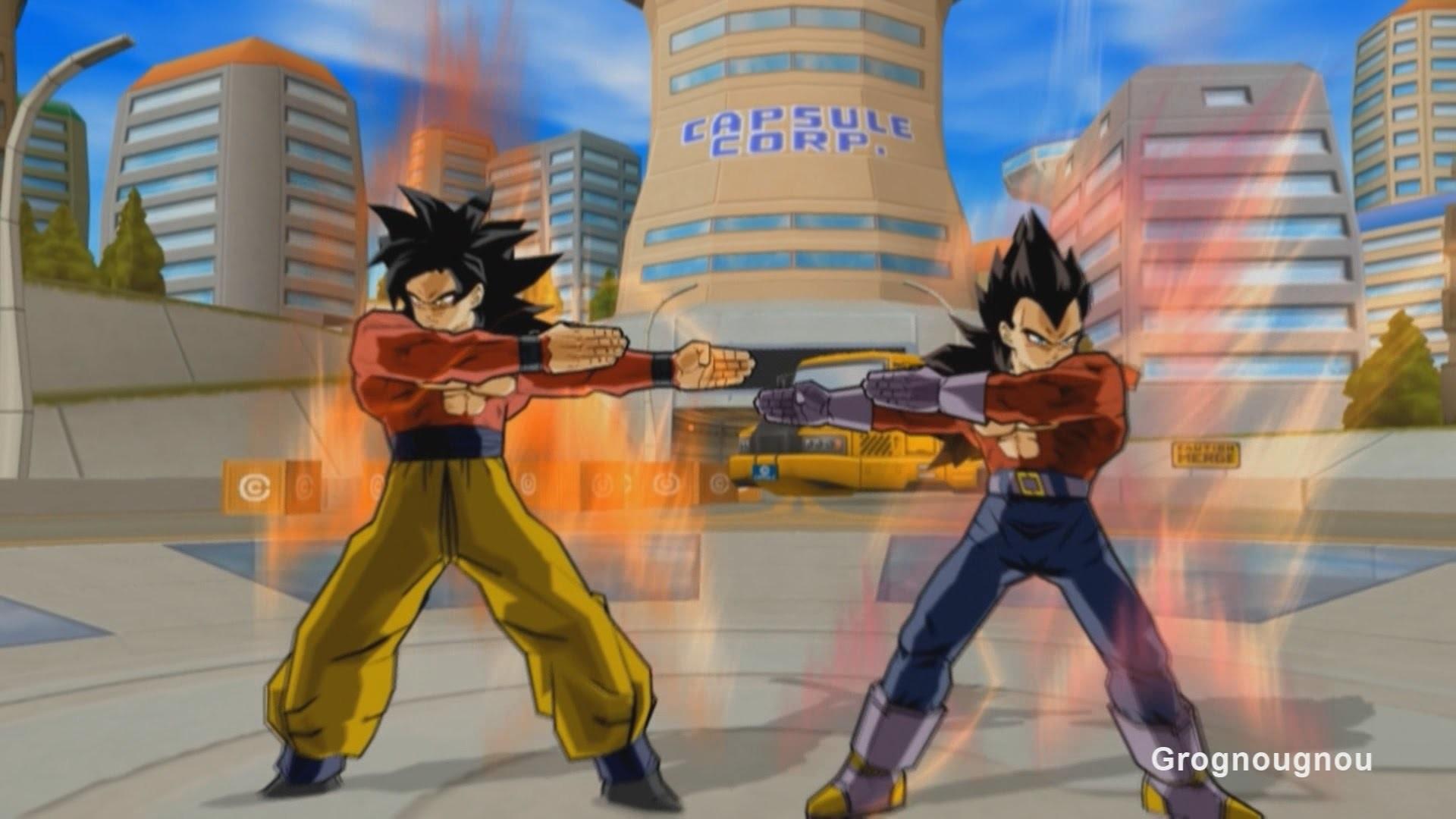 Vegeta GT and Goku Fusion Dance : Gogeta SSJ4 VS Omega Shenron (Dragon Ball  Z Budokai 3 Mod) – YouTube