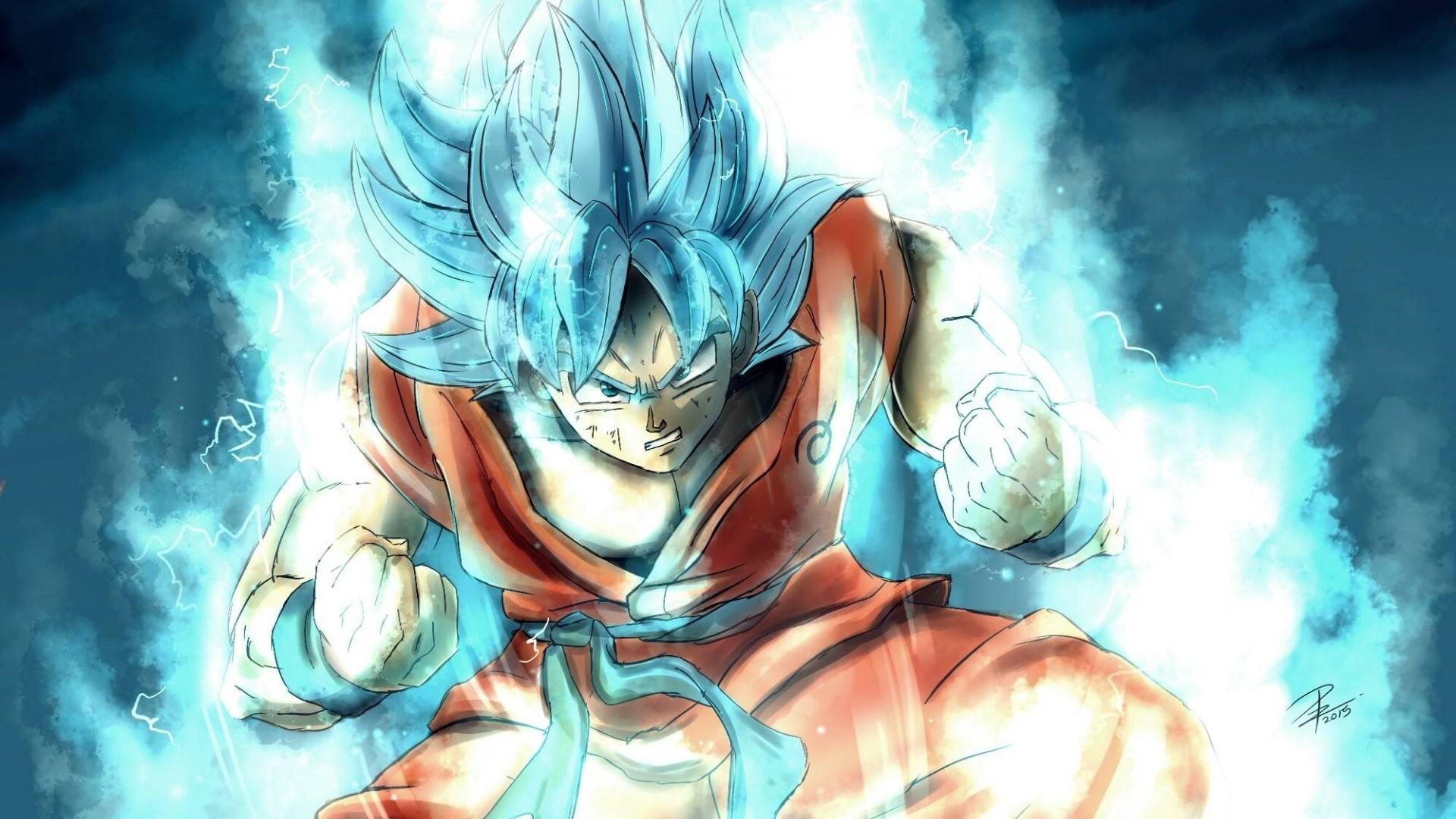 Super Saiyan Goku SSJ3 HD Wallpaper For Desktop Download
