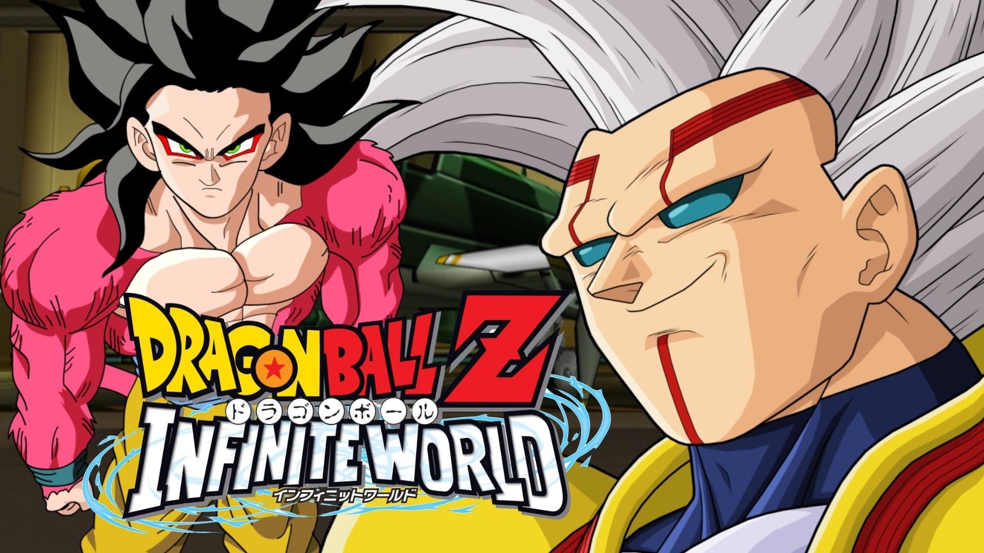 Dragon Ball Z Infinite World – SSJ4 Goku vs Super Baby Vegeta BEST QUALITY  – YouTube