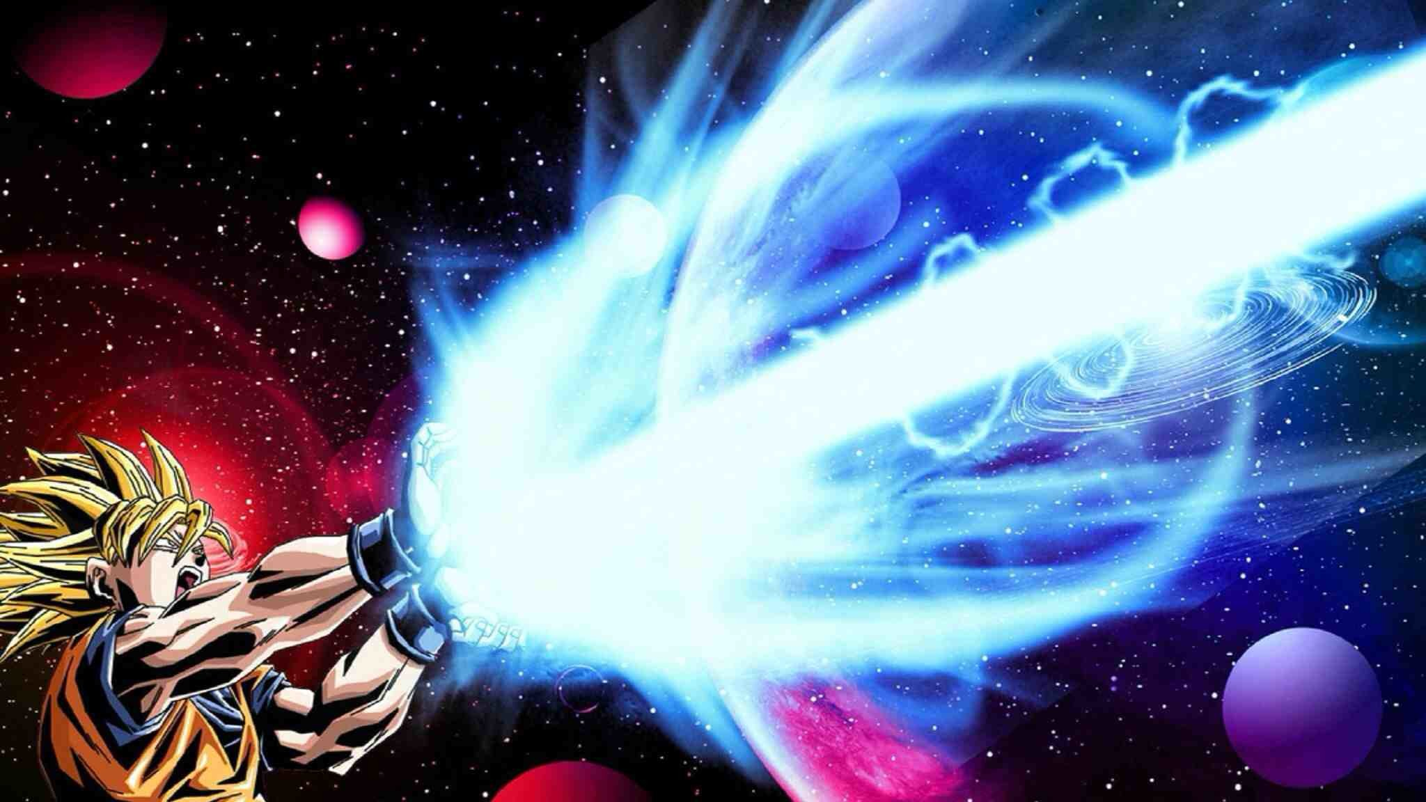 Goku Kamehameha Wallpaper : dbz