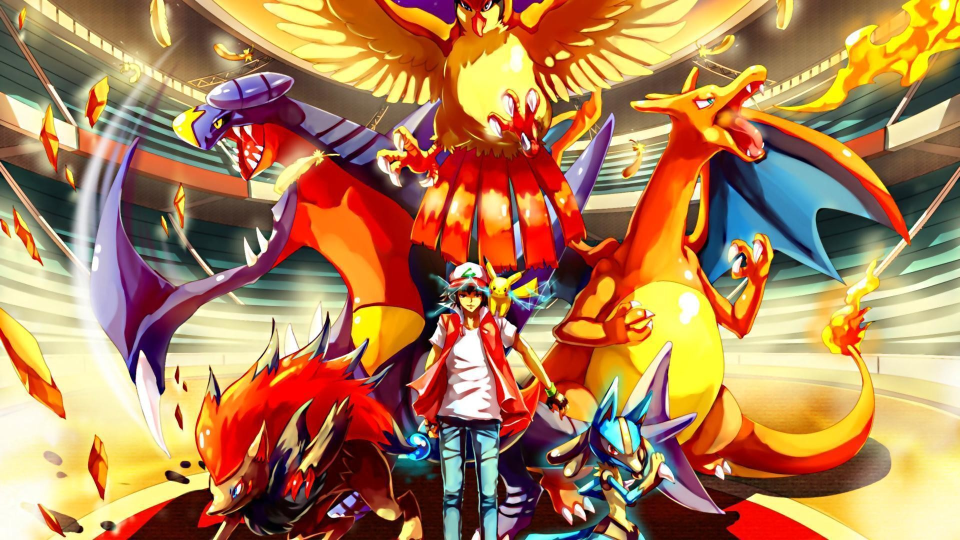 Wallpapers For > Red Vs Blue Wallpaper Pokemon