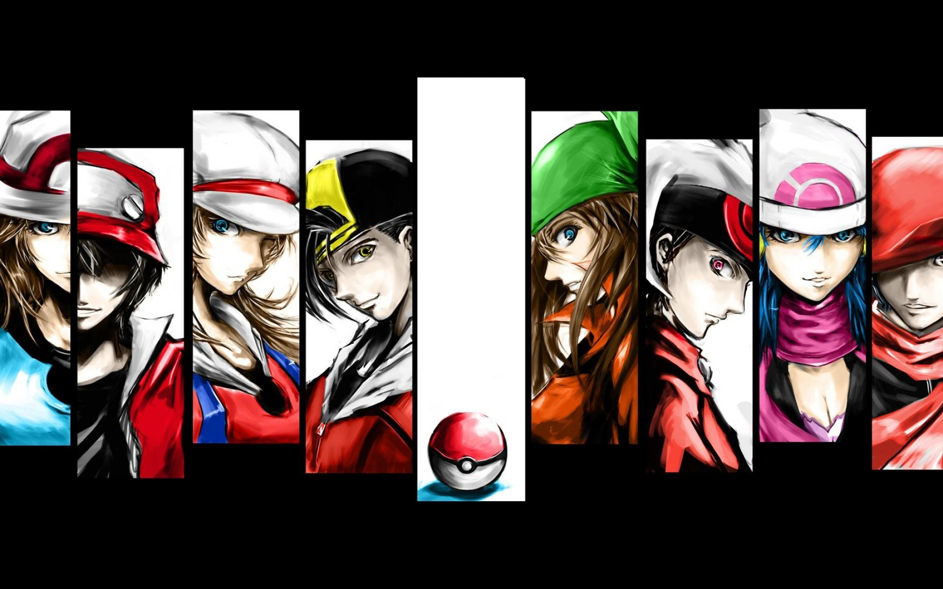 Pokemon Trainer Red Wallpapers – Wallpaper Cave