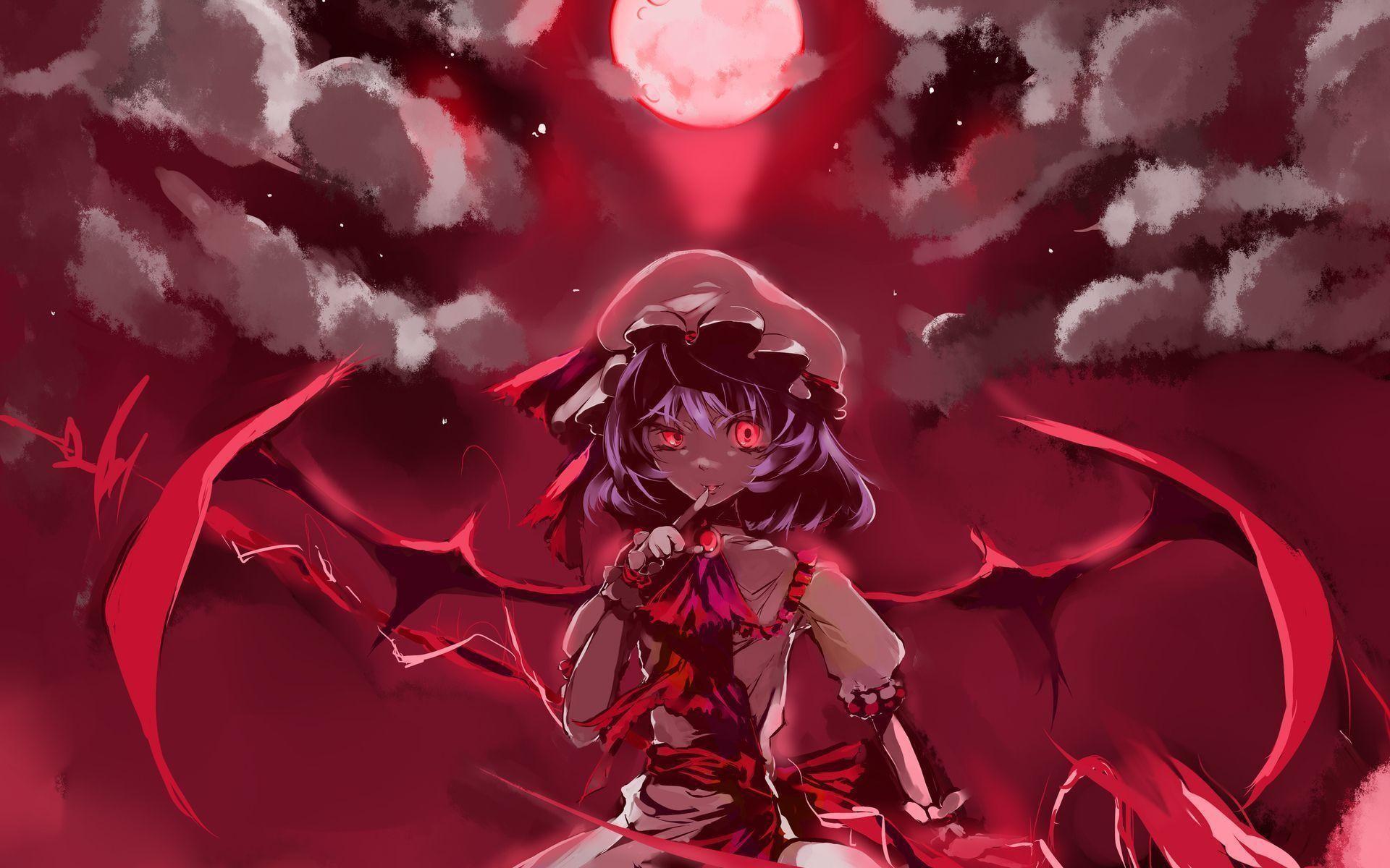 Anime Vampire Girl Wallpaper Id #1064 | Frenzia.