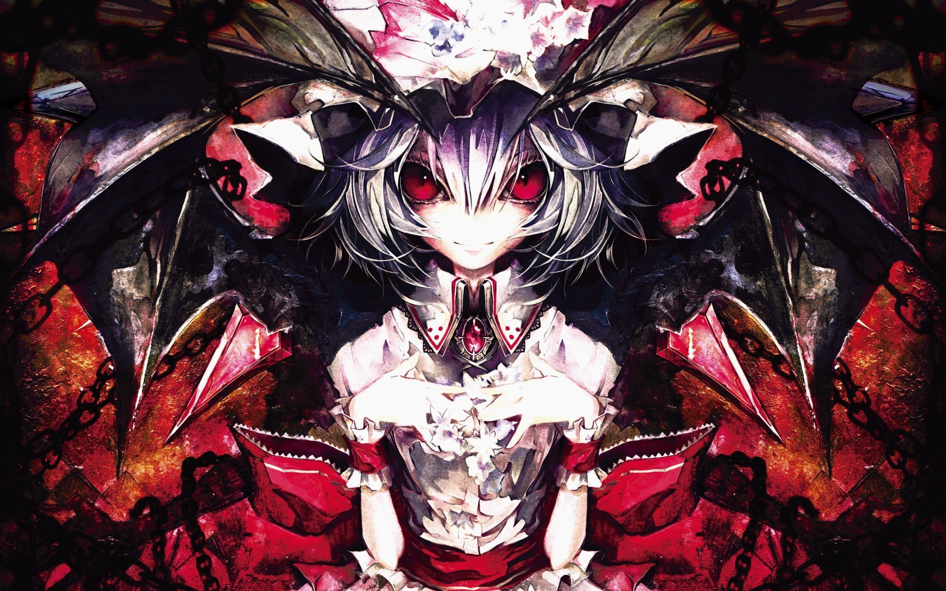 anime Girls, Touhou, Remilia Scarlet Wallpapers HD / Desktop and Mobile  Backgrounds