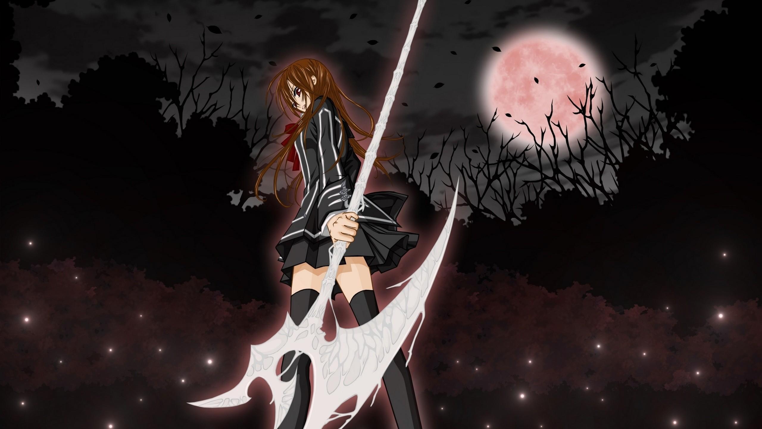 Vampire Knight, Yuki, Vampire-knight, The Moon, Girl, Yuki,