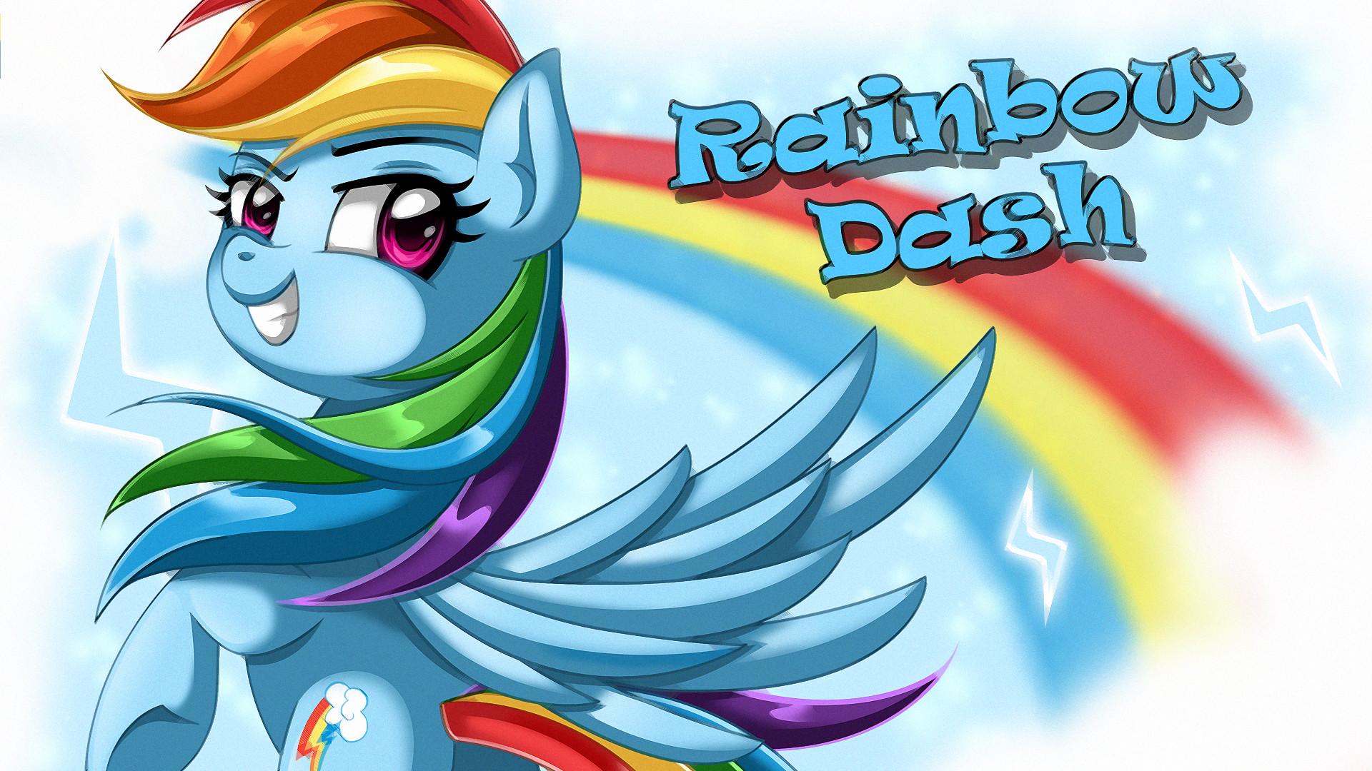Wallpaper: Rainbow Dash by EStories Wallpaper: Rainbow Dash by EStories