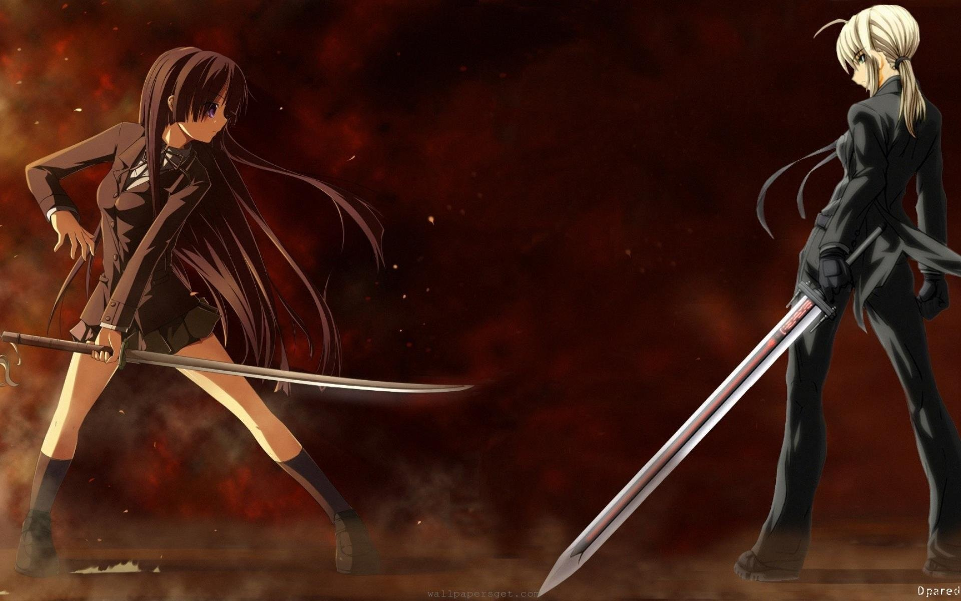 Anime Girl Fighting 401212 …