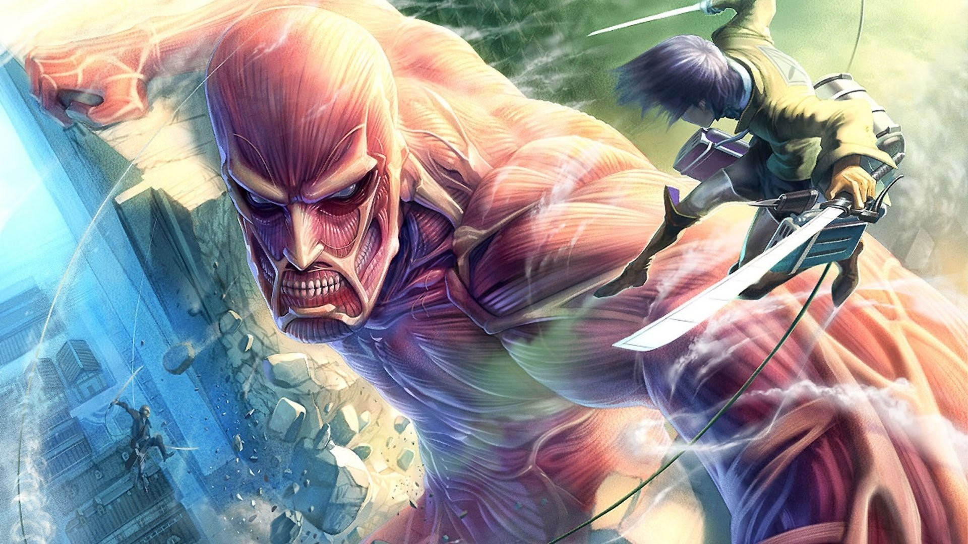 Epic Anime Fighting Wallpaper High Definition