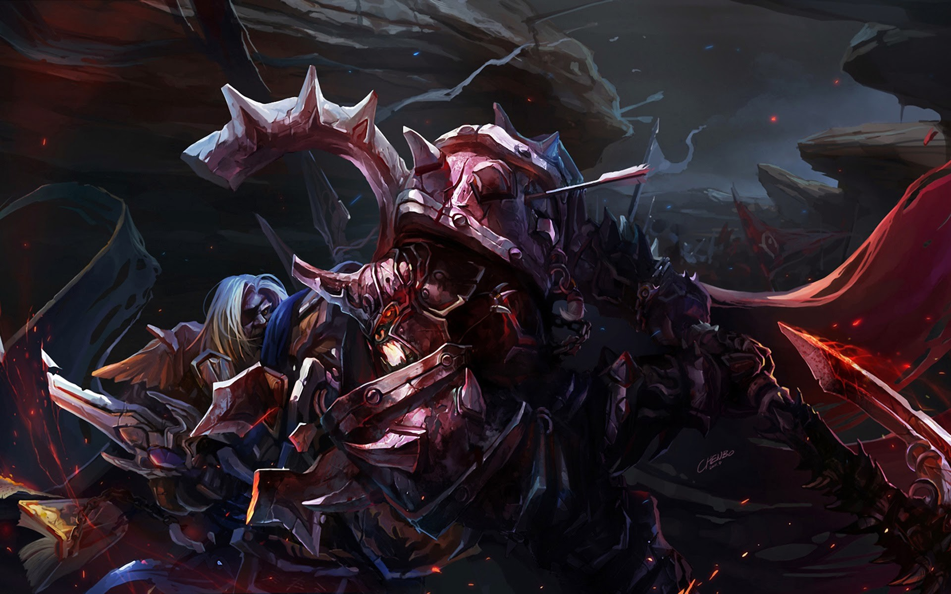 epic fight warrior armor sword fantasy hd wallpaper 1920×1200 a533.