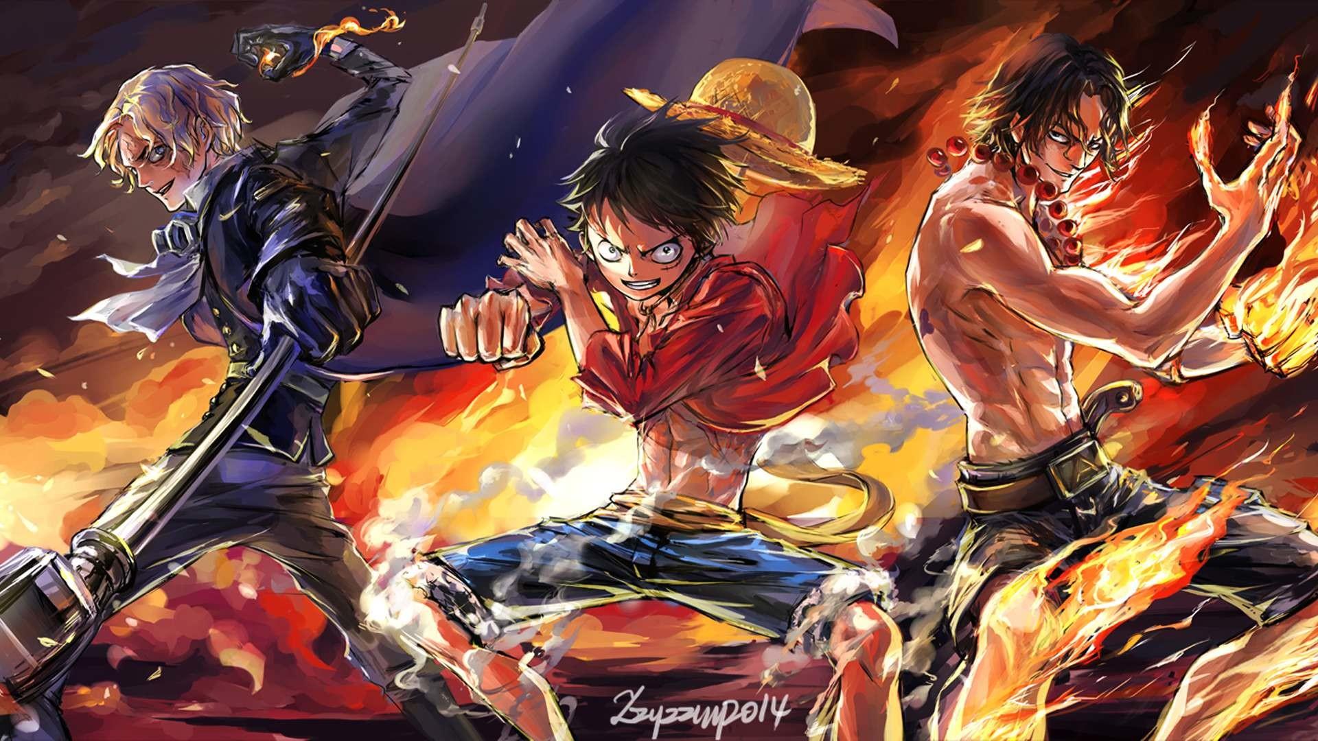 One Piece Desktop Background HD
