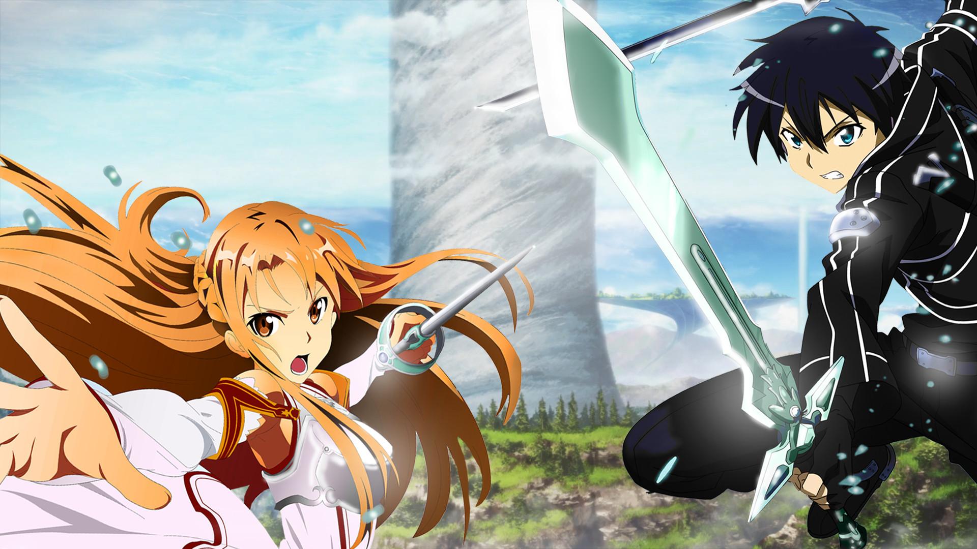 Sword Art Online Asuna Fighting