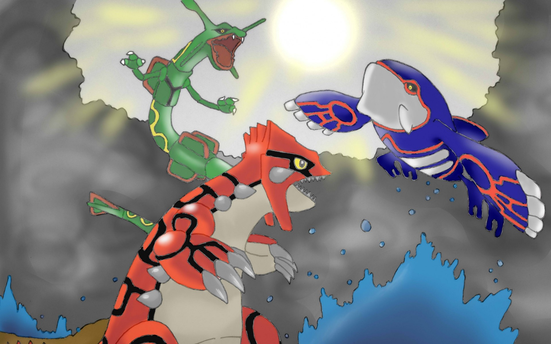 Download Wallpapers, Download kyogre groudon .