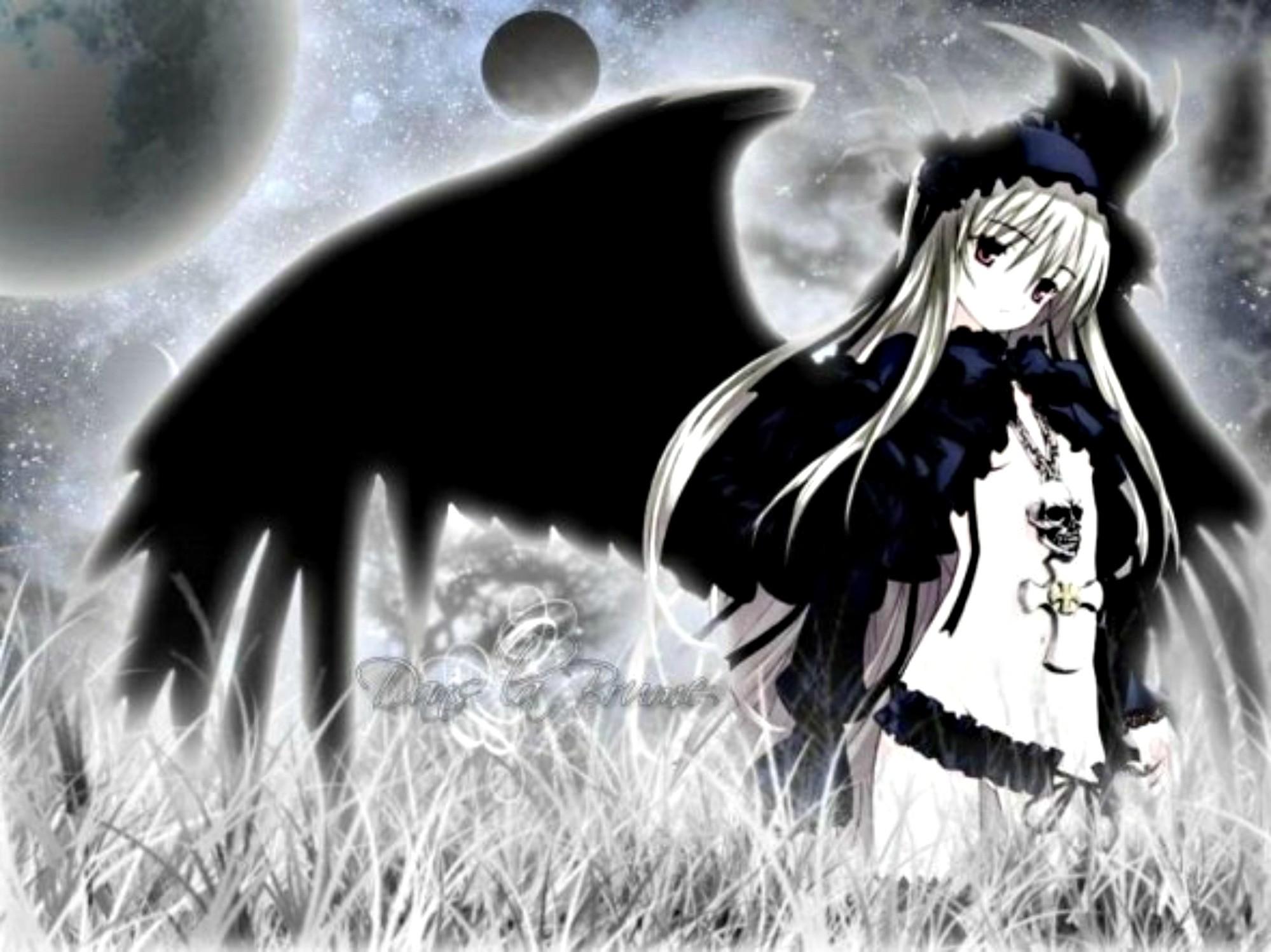 Download Dark Angel Anime Girl wallpaper