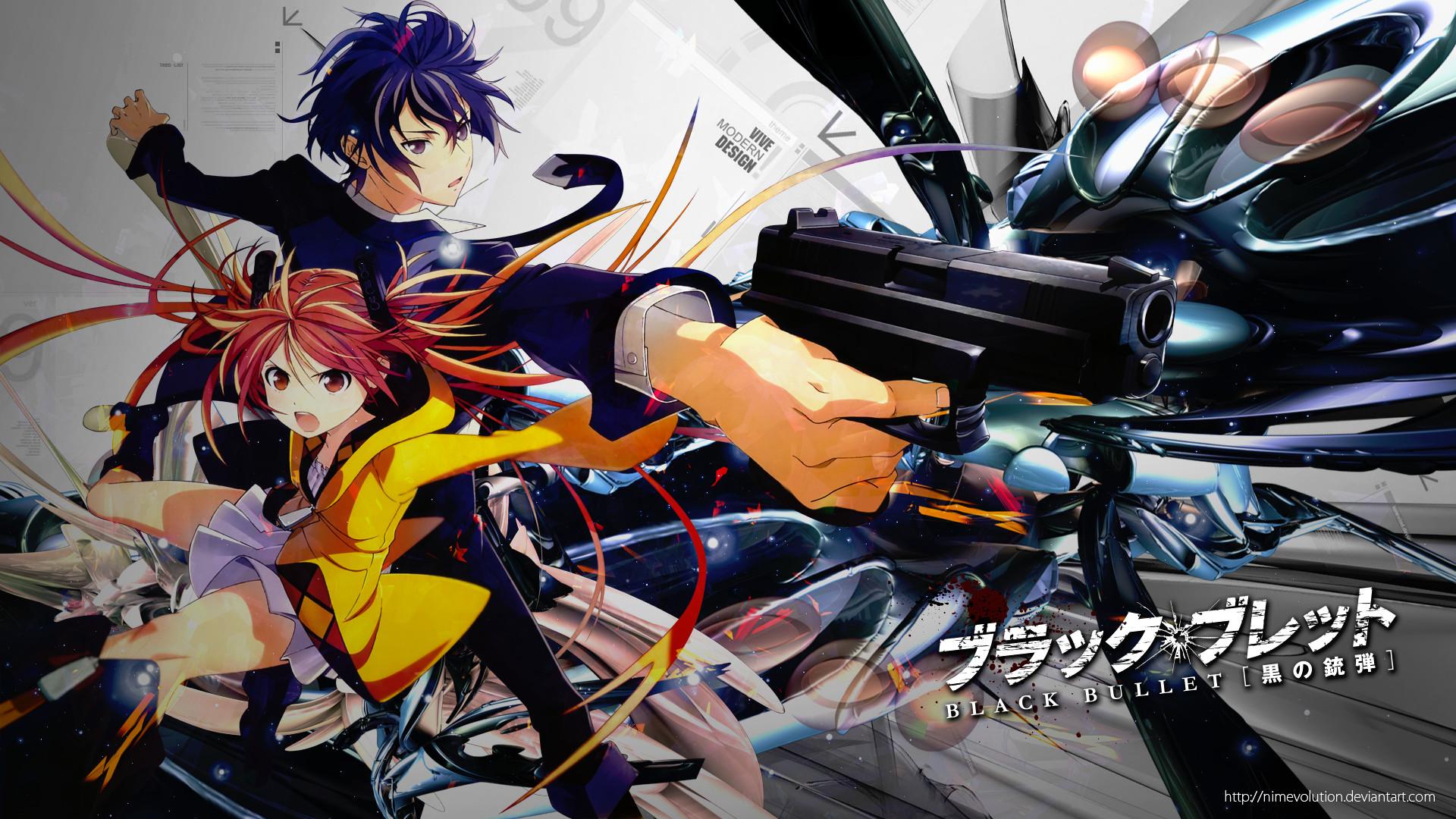 Fondo de pantalla HD | Fondo de Escritorio ID:704176. Anime Black  Bullet