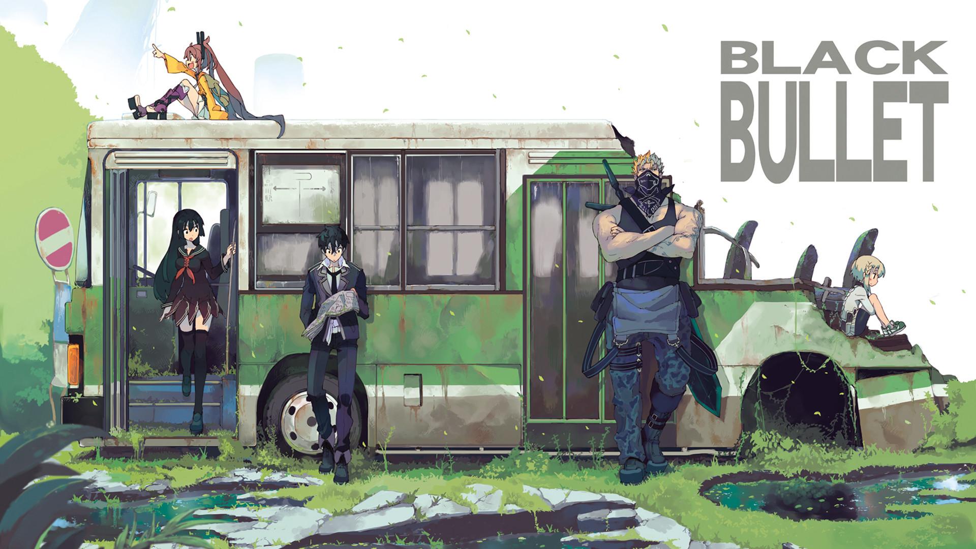 Black Bullet | Pinterest | Black bullet, Anime and Manga
