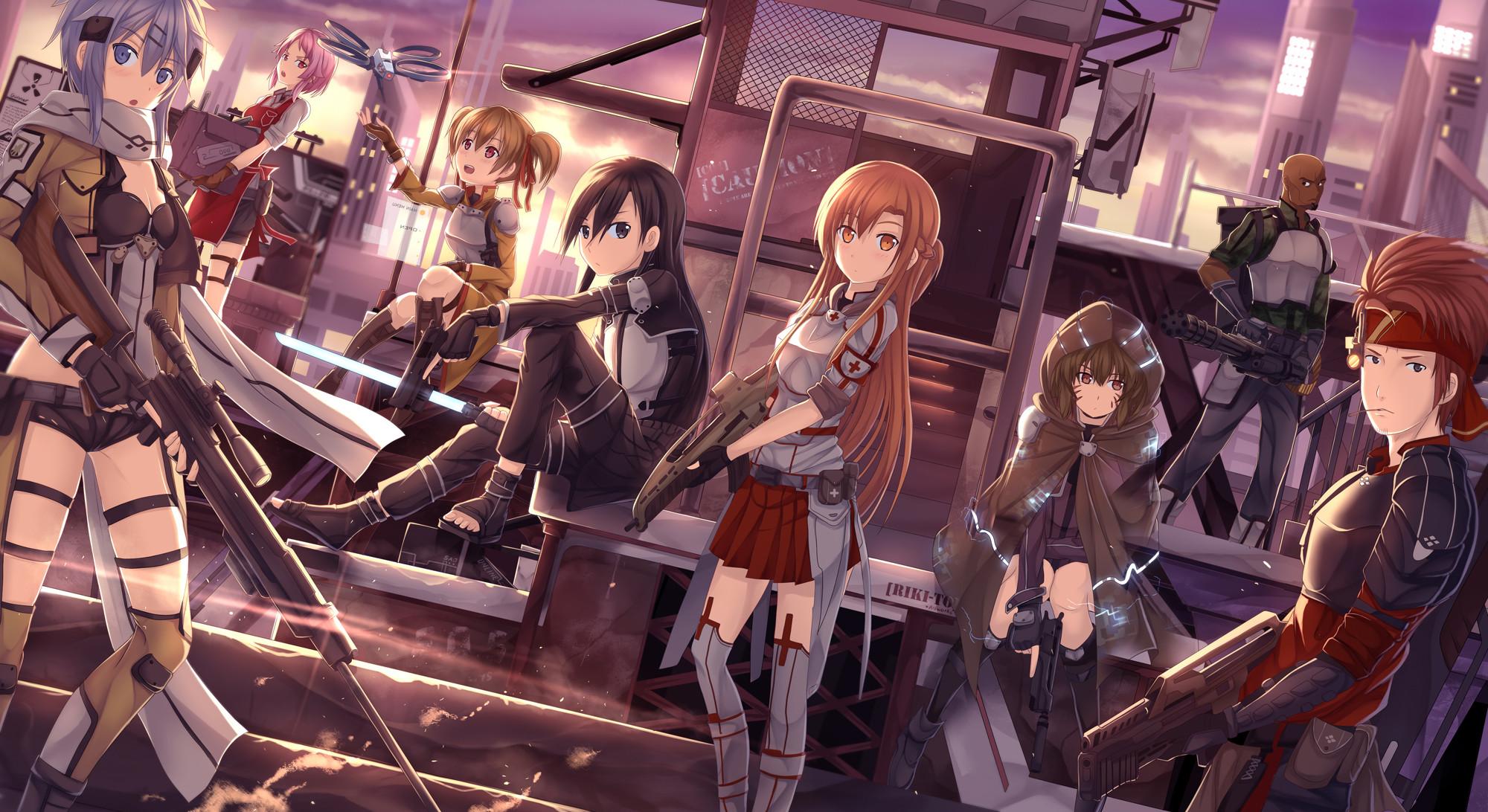 HD Wallpaper | Background ID:434993. Anime Sword Art Online II