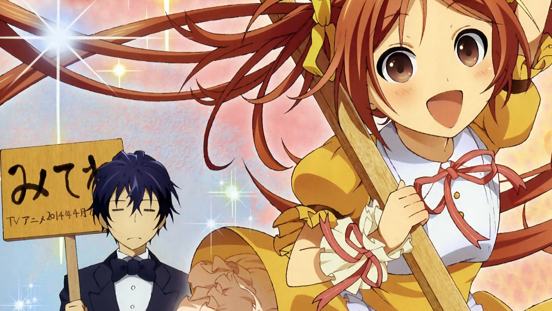 rentarou satomi and enju aihara black bullet anime spring