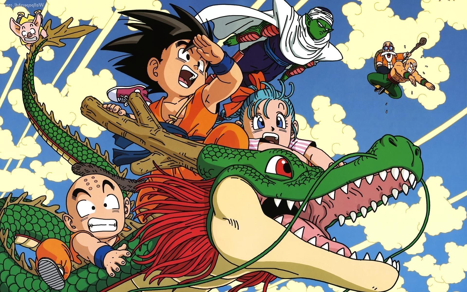 anime, Dragon Ball, Dragon Ball Z, Son Goku, Piccolo, Krillin Wallpapers HD  / Desktop and Mobile Backgrounds