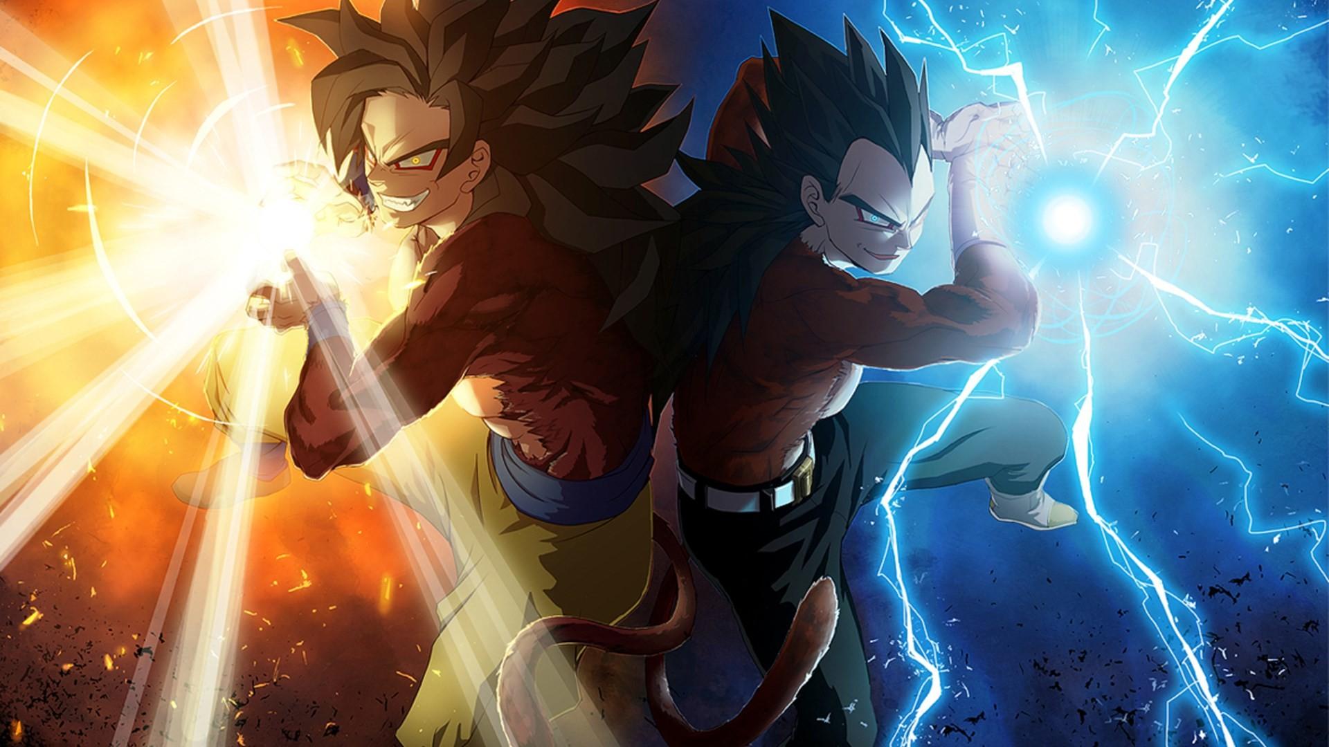 Goku & Vageta* – Dragon Ball Z Wallpaper (35525624) – Fanpop