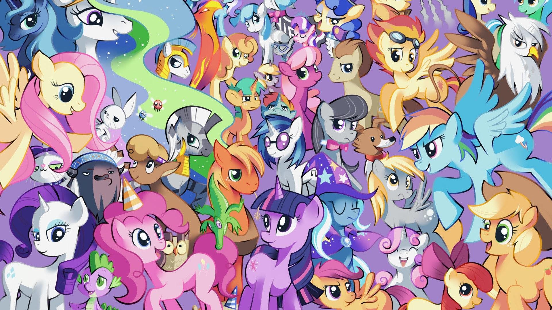 My Little Pony Wallpaper 1920×1080