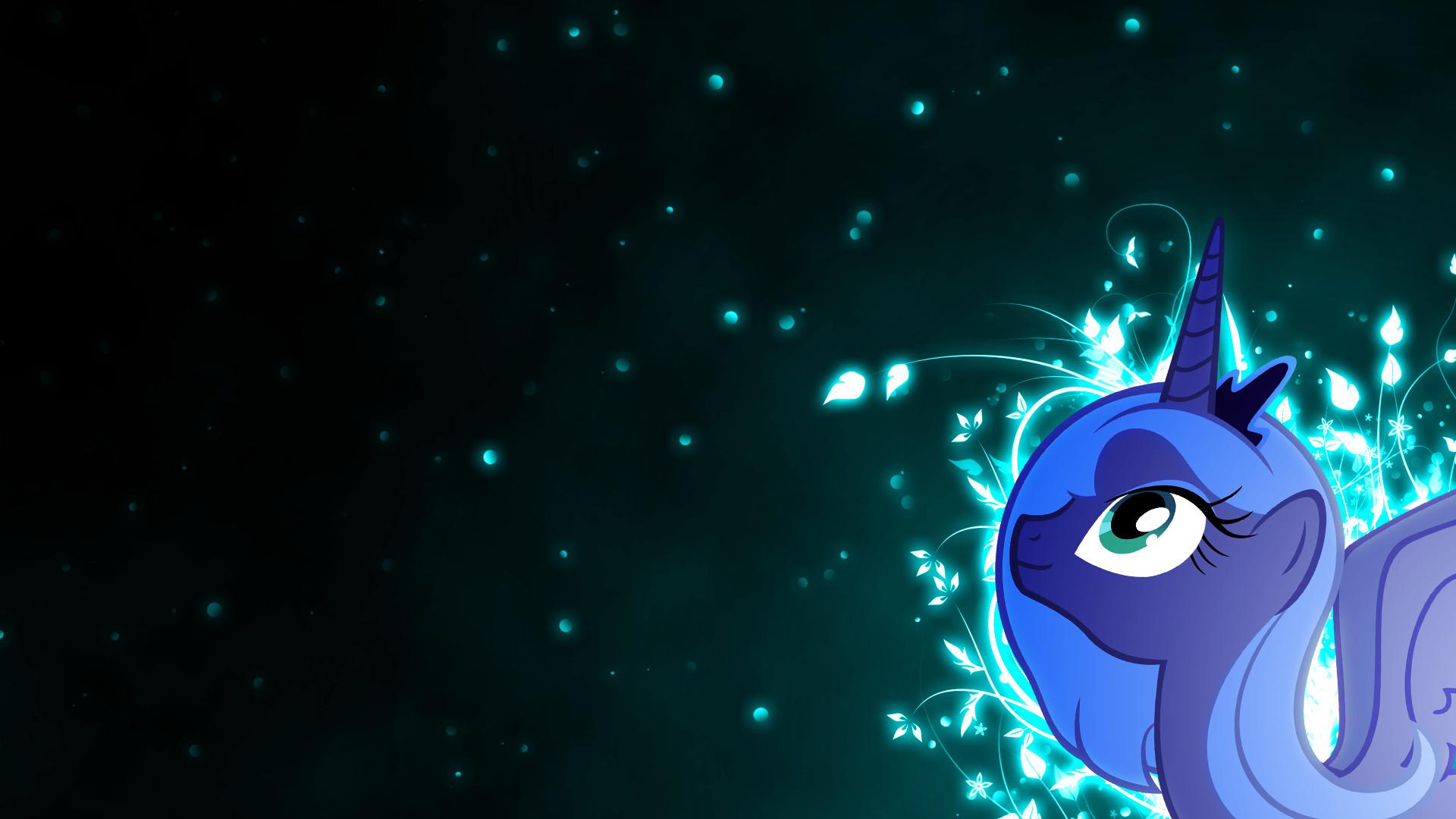 Cartoon – My Little Pony: Friendship is Magic Vector Artistic Princess Luna  Dark My Little
