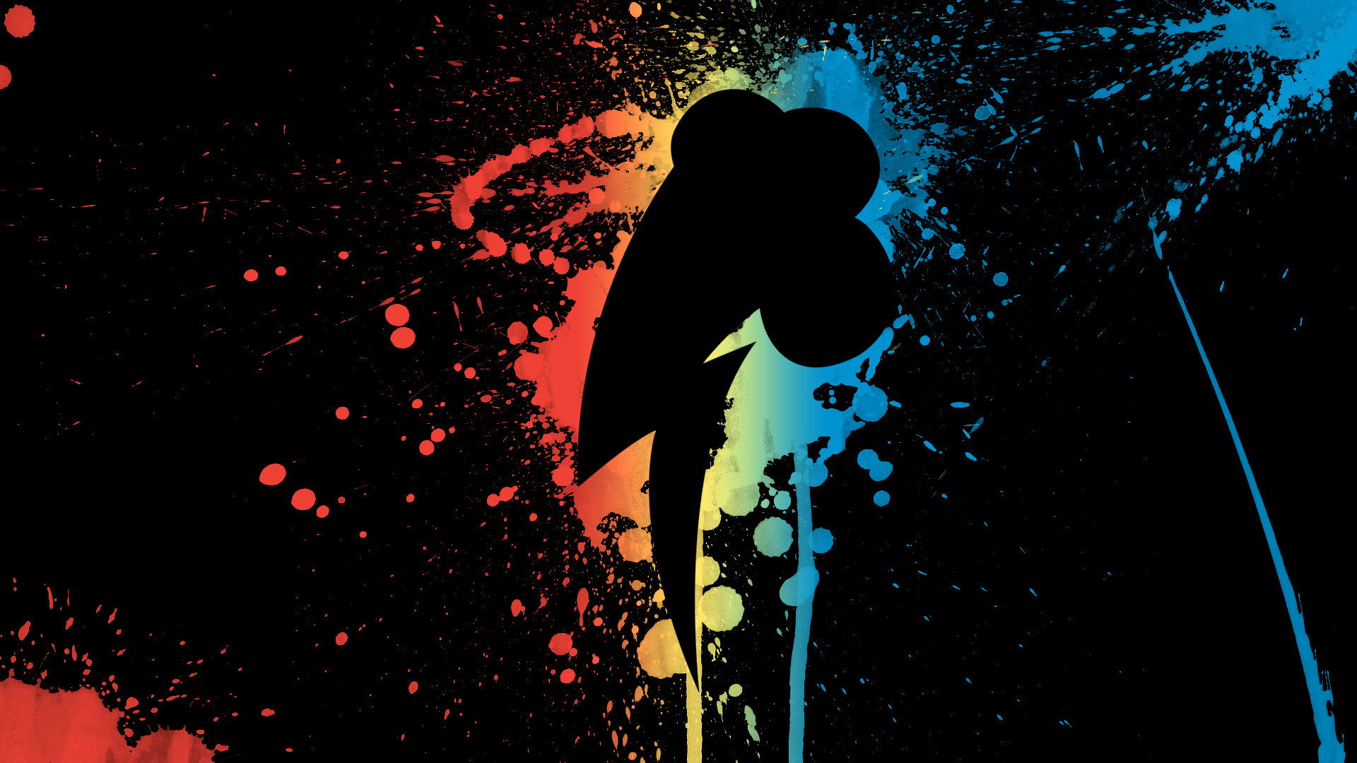 CCD947: My Little Pony Rainbow Dash, 1920×1080, by Alayna Lott