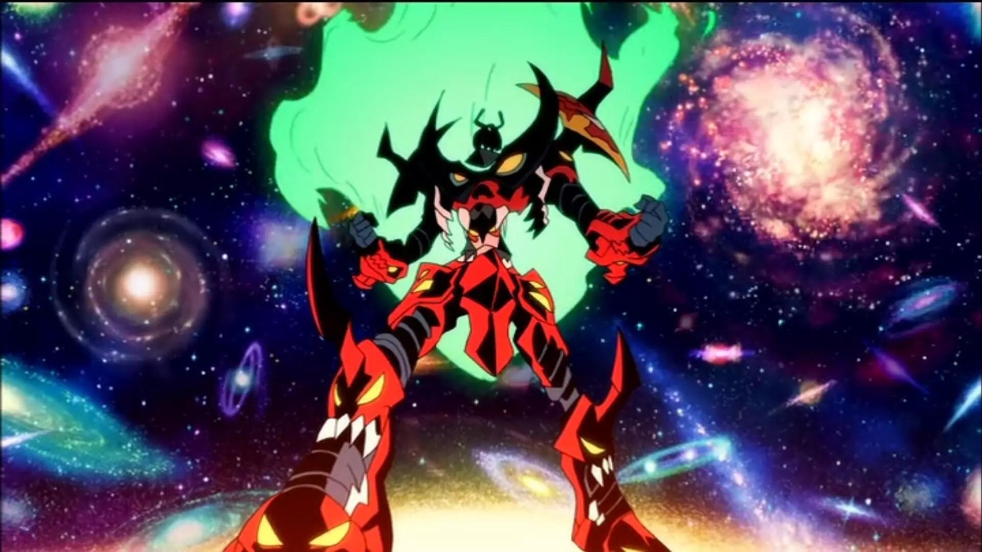 Gundam wing > Gurren Lagann > Gunbuster