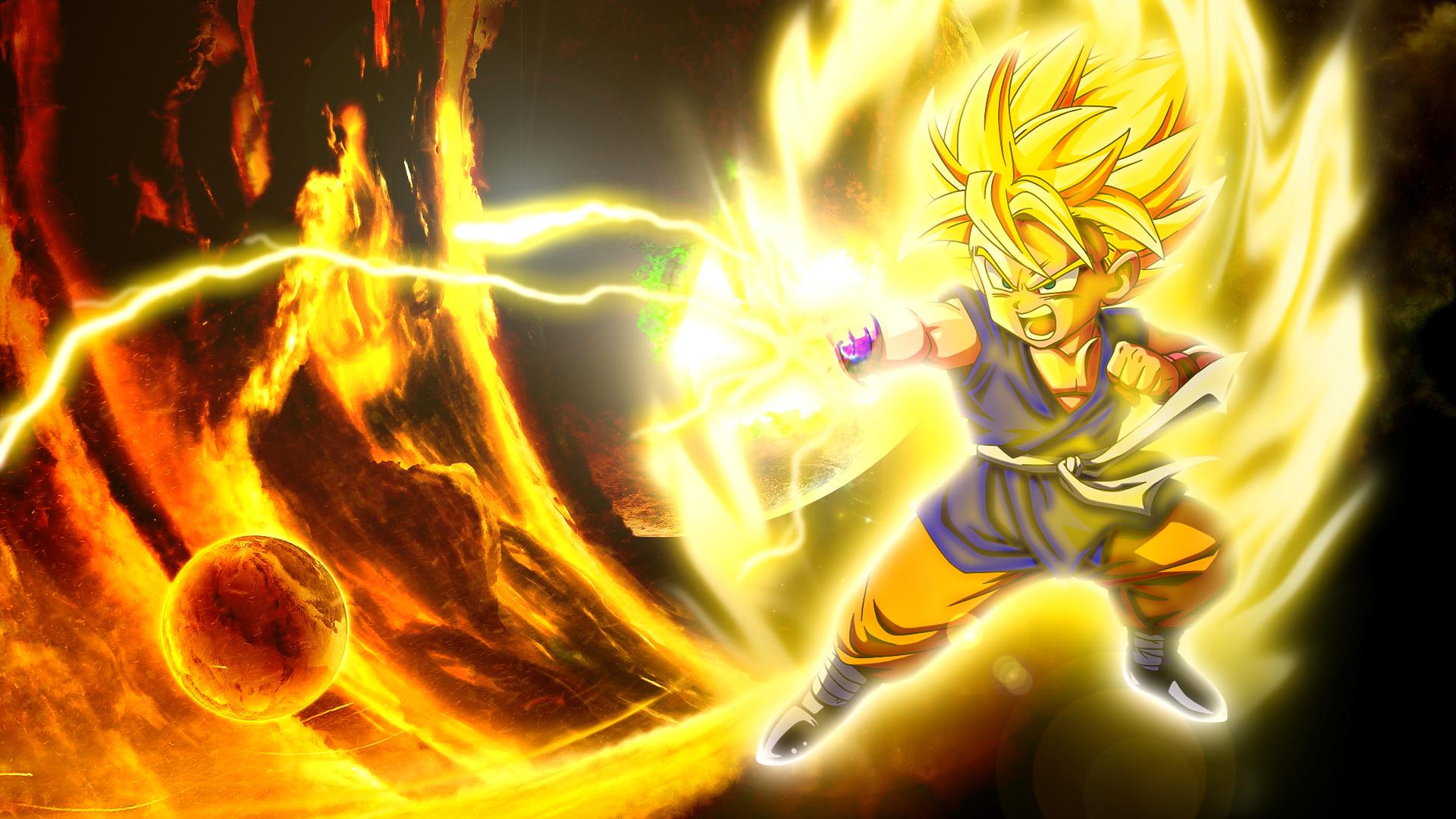 Kid Goku Dragon Ball Z by UzumakiAsh on DeviantArt