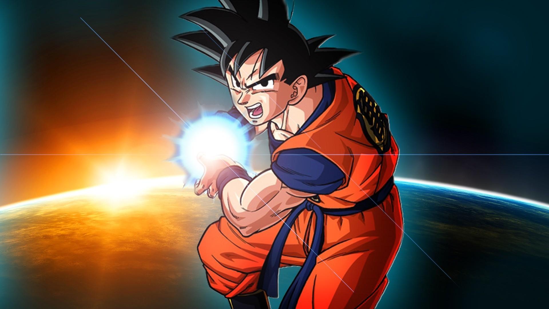 Dbz Wallpaper Goku Kamehameha