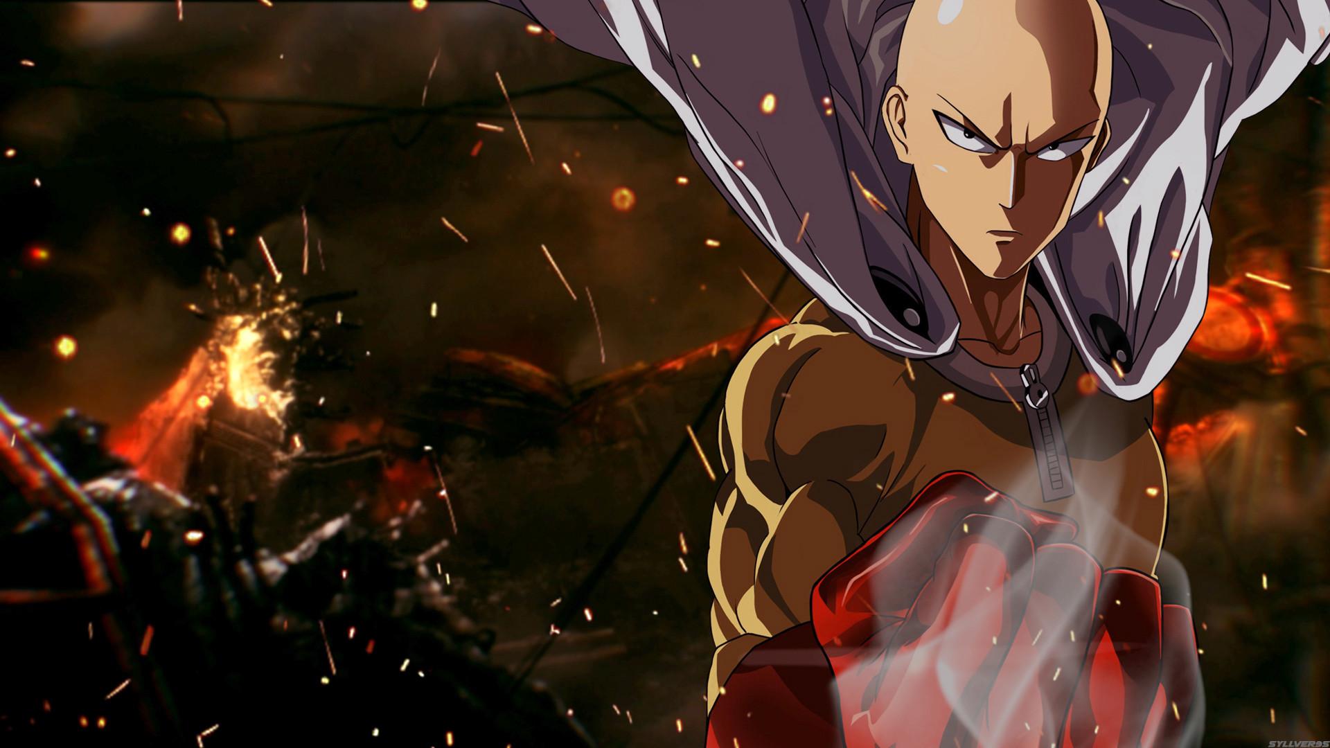 Anime – One-Punch Man Saitama (One-Punch Man) Anime Wallpaper