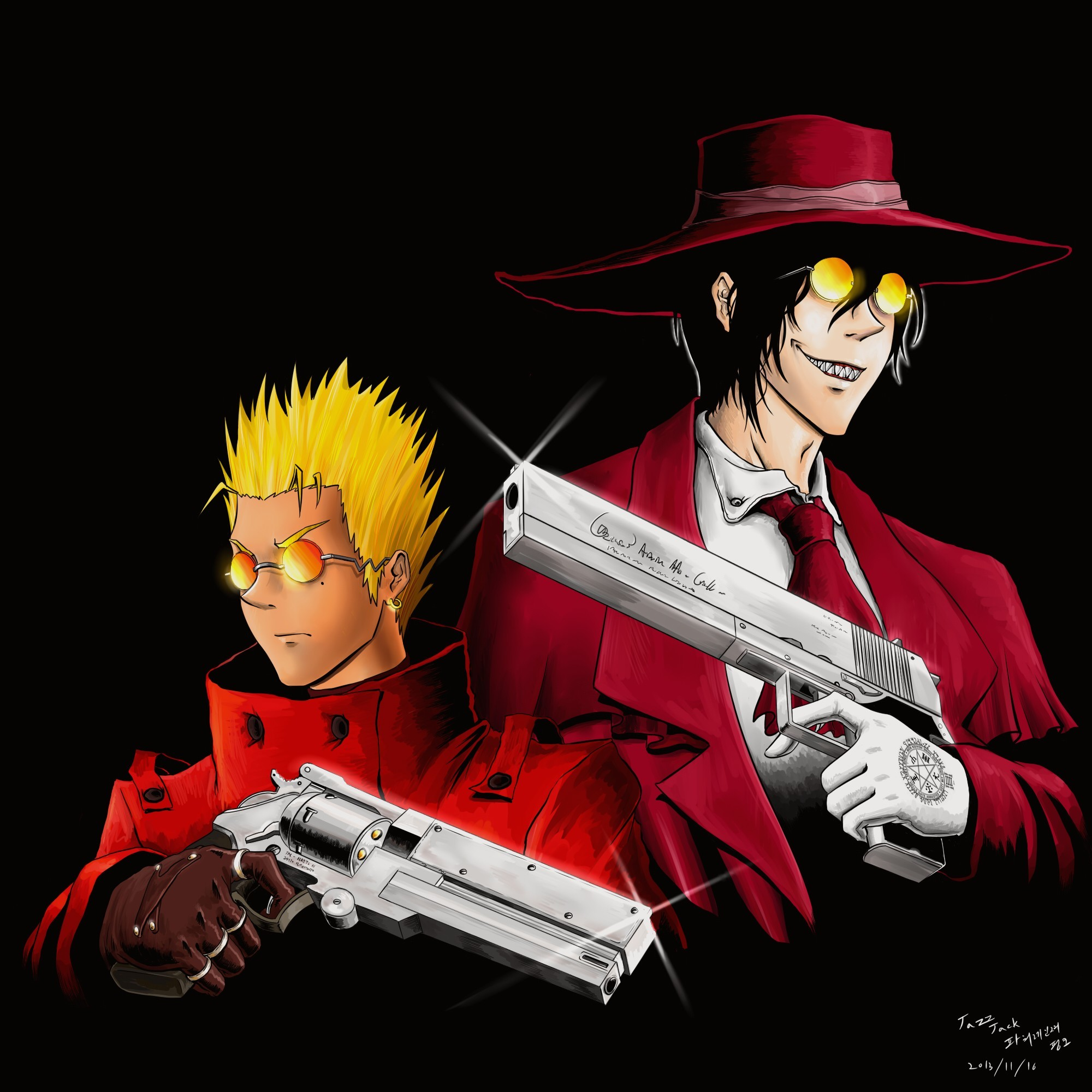 Download Vash The Stampede <b>wallpapers</b> to your cell <