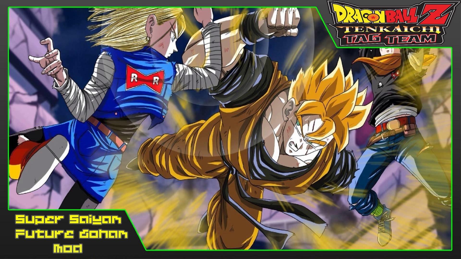 Dragon Ball Z Tenkaichi Tag Team | Super Saiyan Future Gohan (MOD) Gameplay  – YouTube