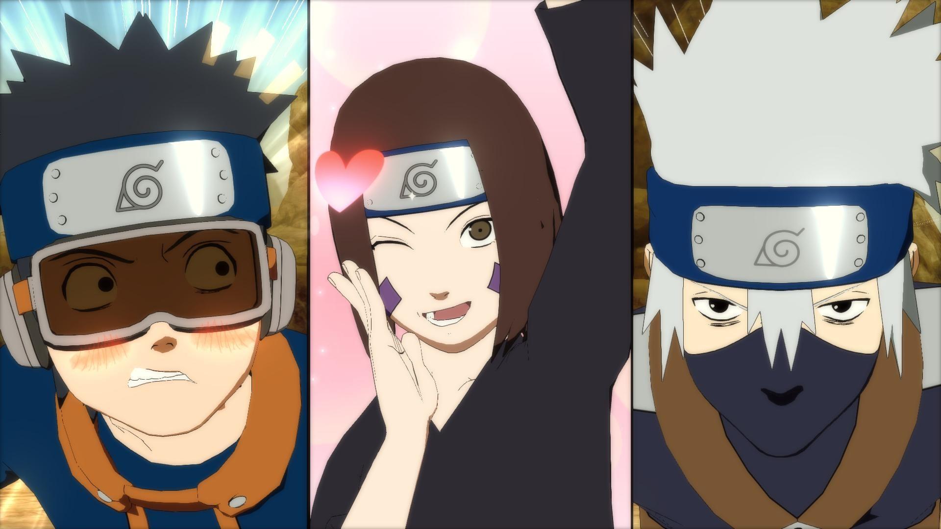 Video Game – Naruto Shippuden: Ultimate Ninja Storm 4 Kakashi Hatake Obito  Uchiha Rin Nohara
